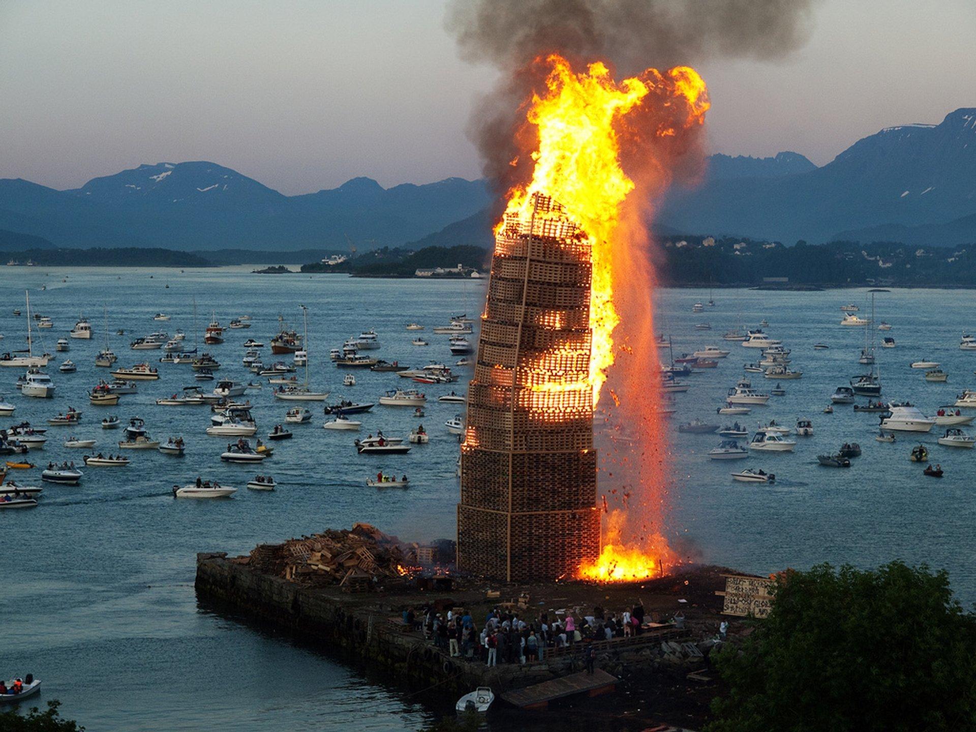 Sankt Hans in Norway 2020 - Best Time