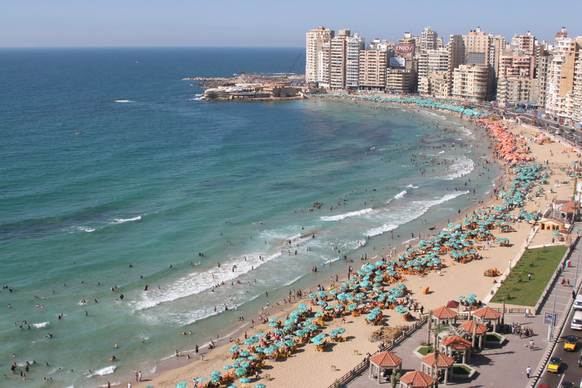 Sidi Beshr Bahri, Alexandria, Egypt 2020