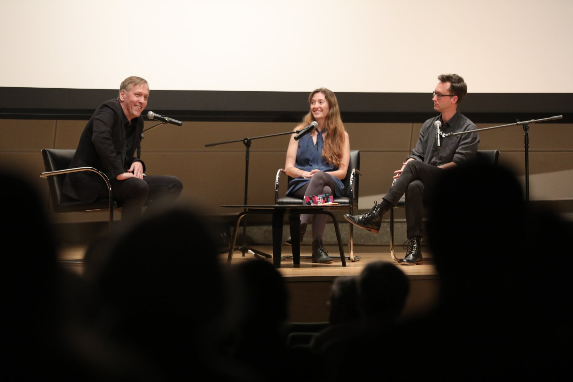 Between The Screens Panel with Lodge Kerrigan, Marielle Heller, and Matt Porterfield 2019