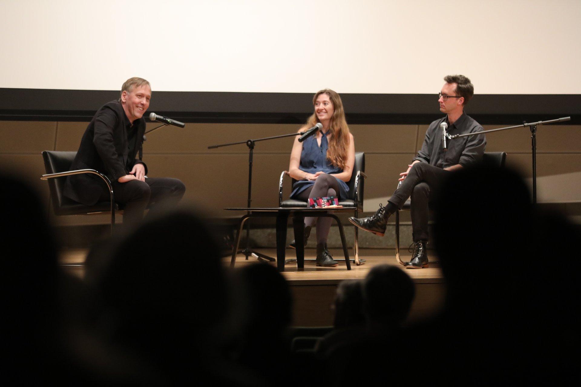 Between The Screens Panel with Lodge Kerrigan, Marielle Heller, and Matt Porterfield 2020