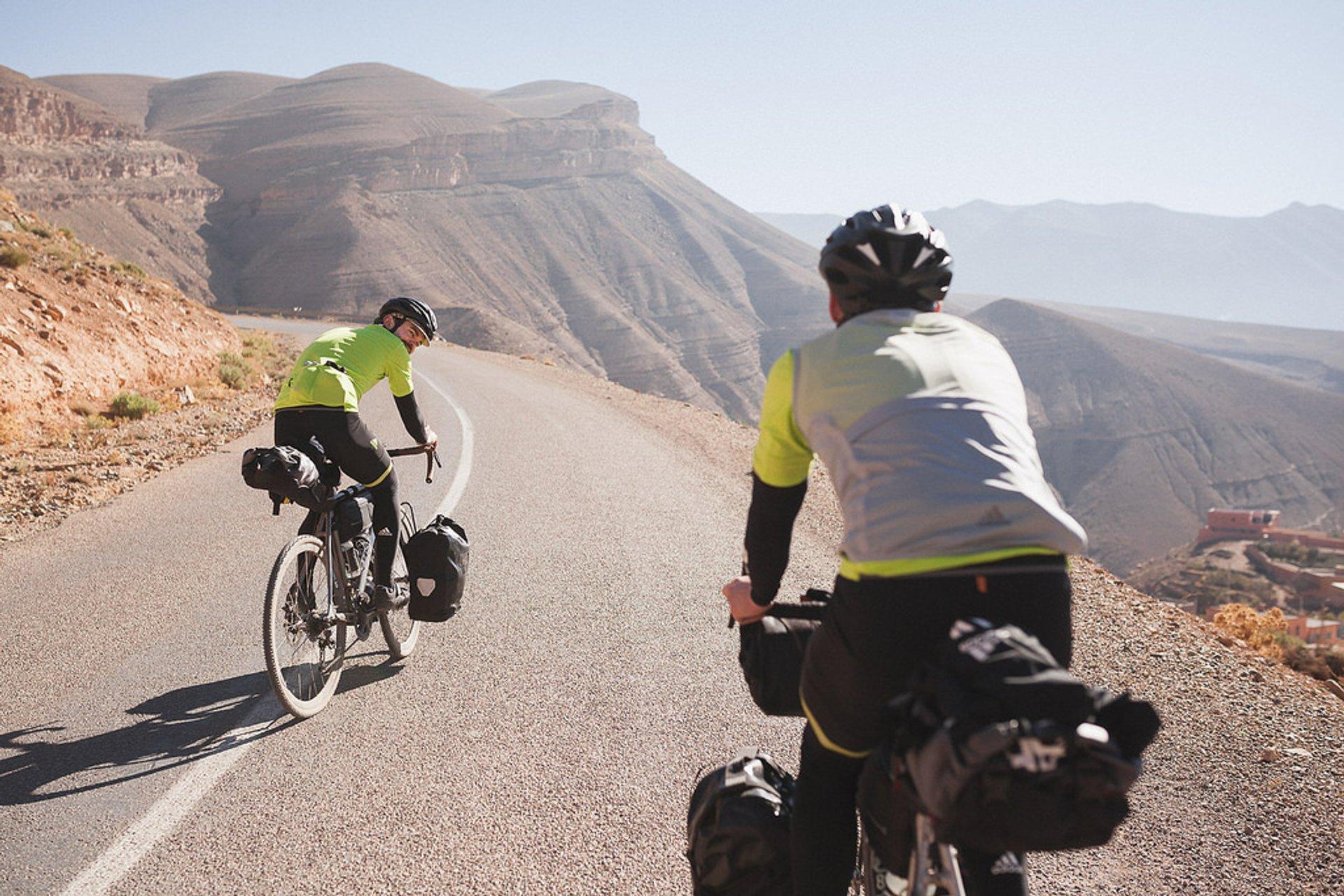 Mountain Biking in the Atlas Mountains in Morocco - Best Season 2020