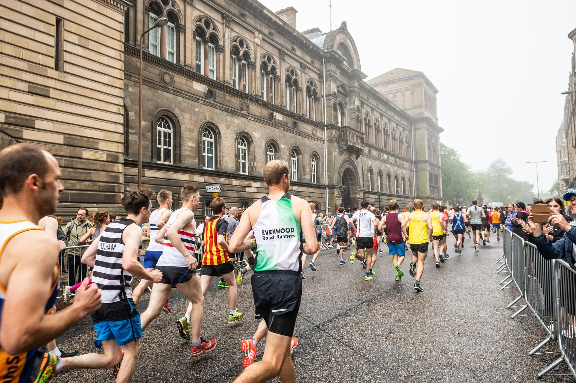 Best time for Edinburgh Marathon 2020