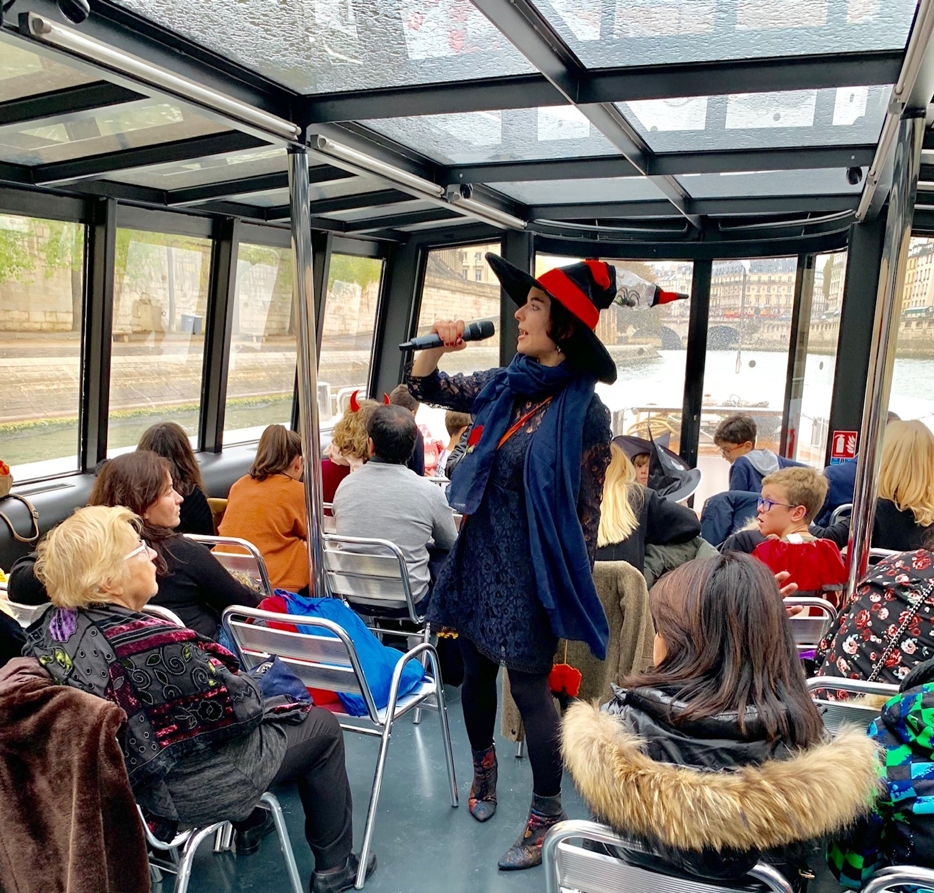 Halloween cruise by Vedettes de Paris 2020