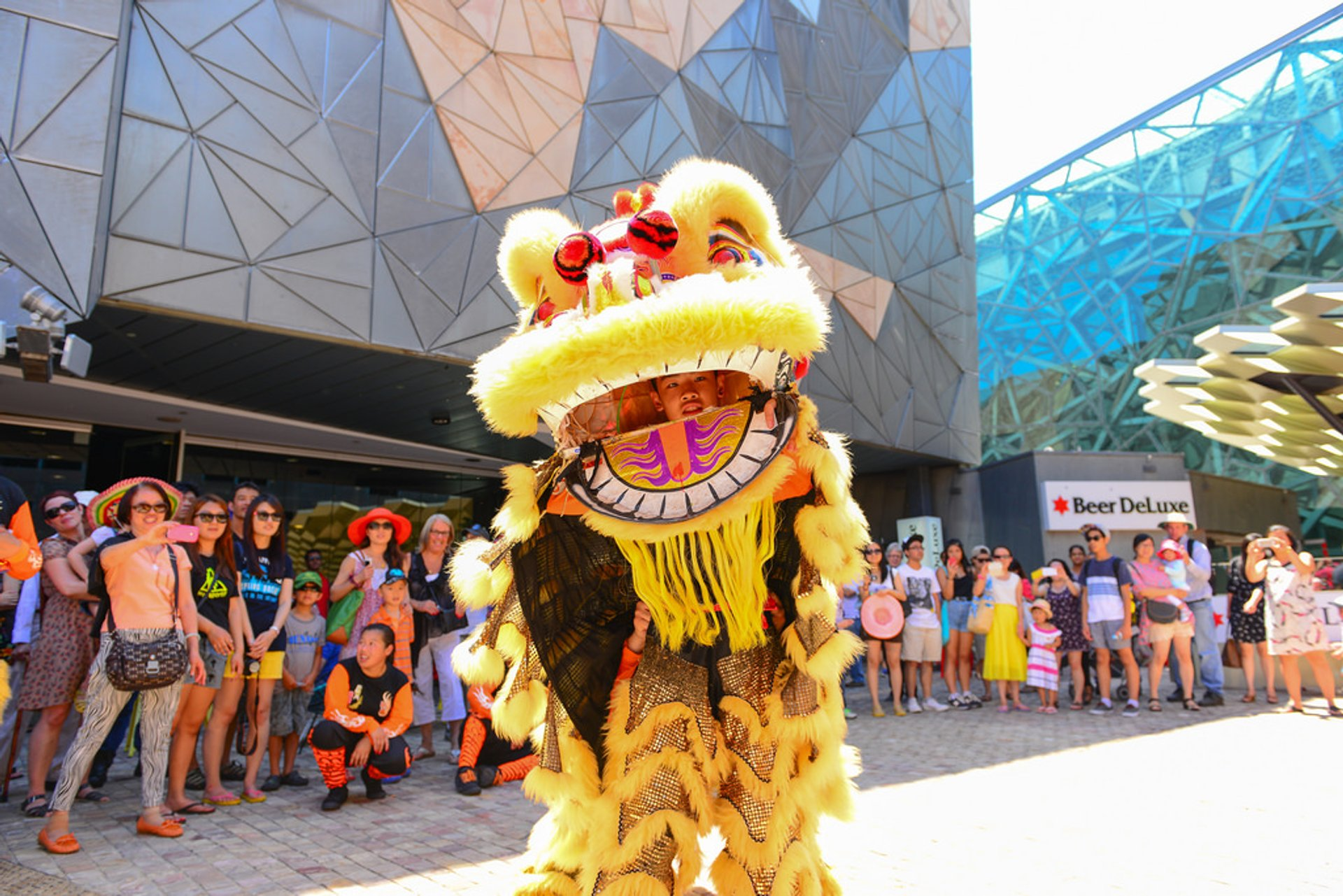 Best time for Chinese New Year in Australia