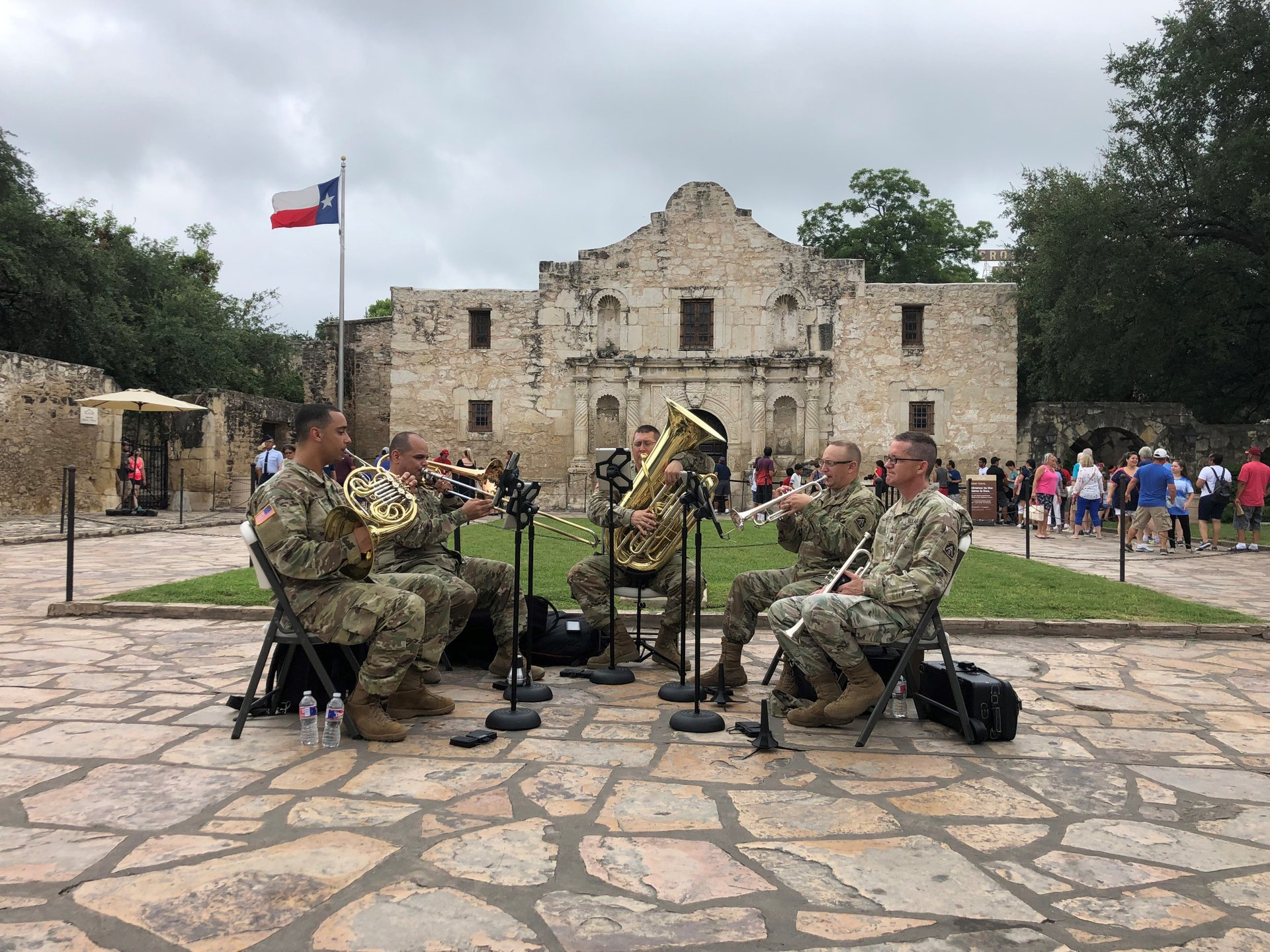 The Alamo 4th of July 2020
