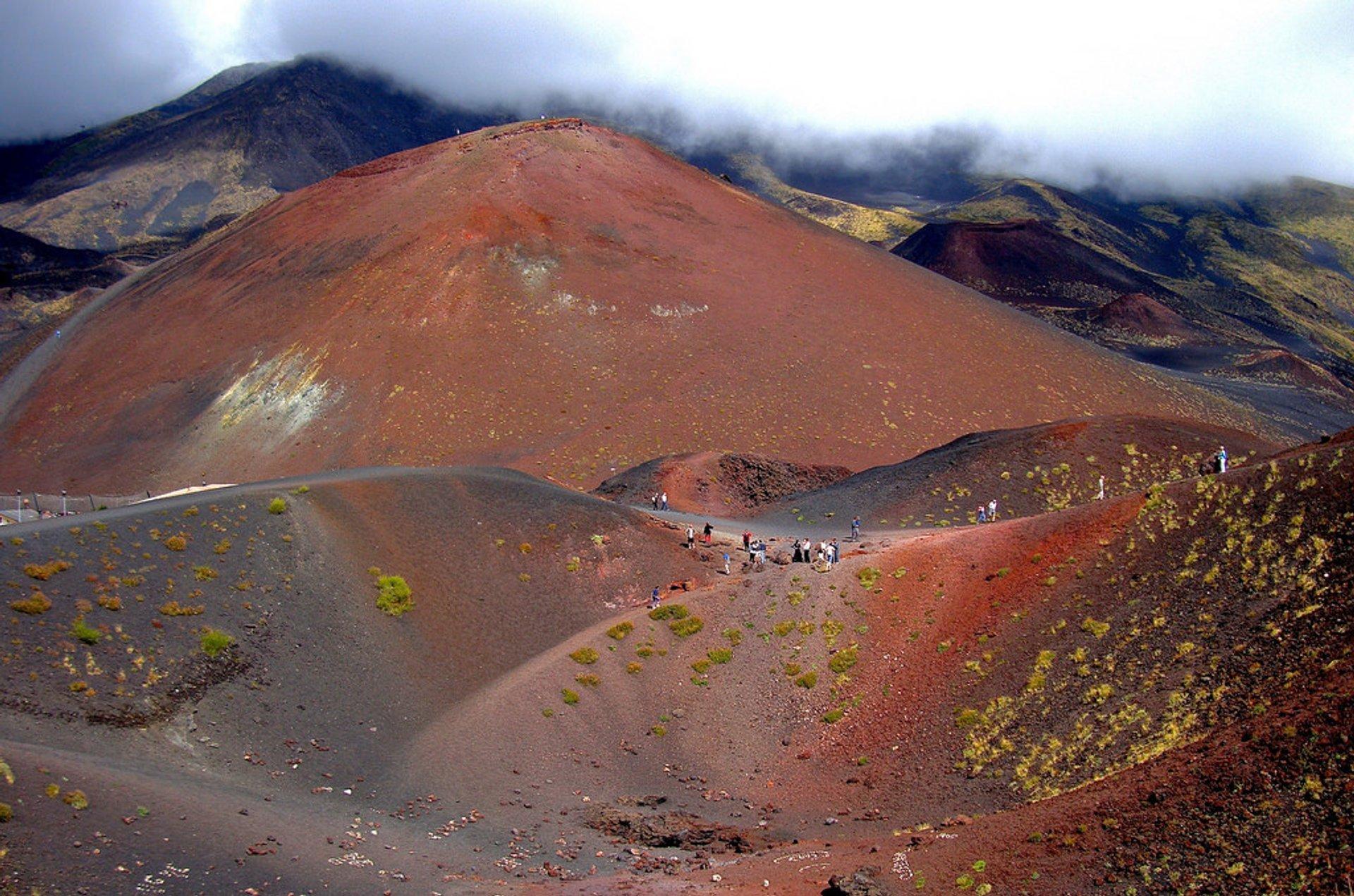 A Walk around Mount Etna in Sicily 2020 - Best Time