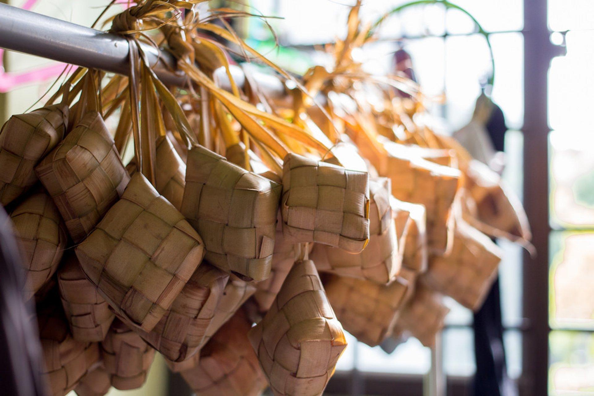 Ketupat, traditional Malay food 2020