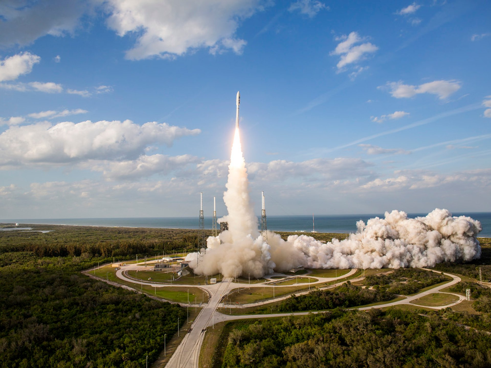Best time for Rocket Launch at Kennedy Space Center in Florida 2020