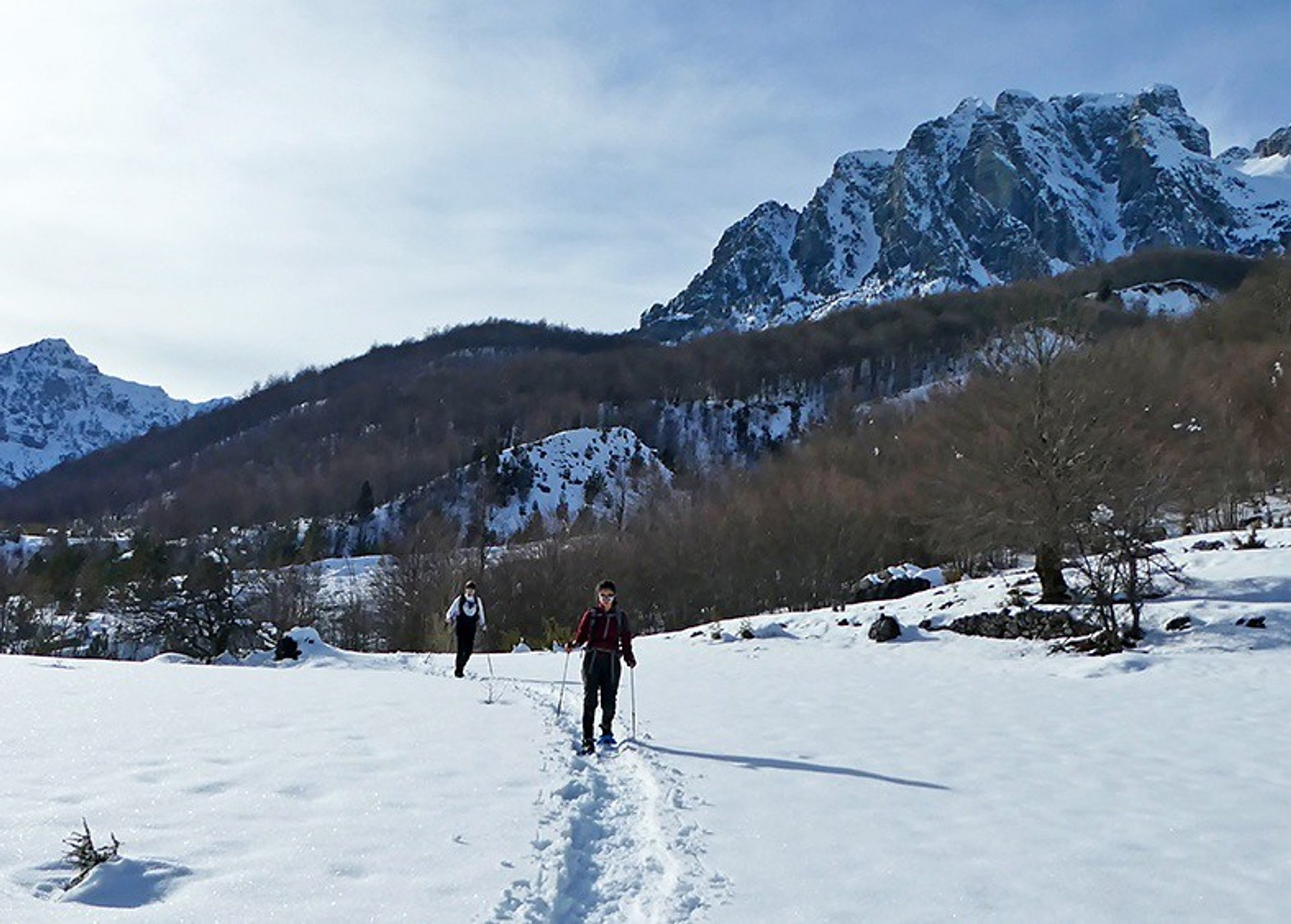 Best time for Snowshoeing in Albania 2019