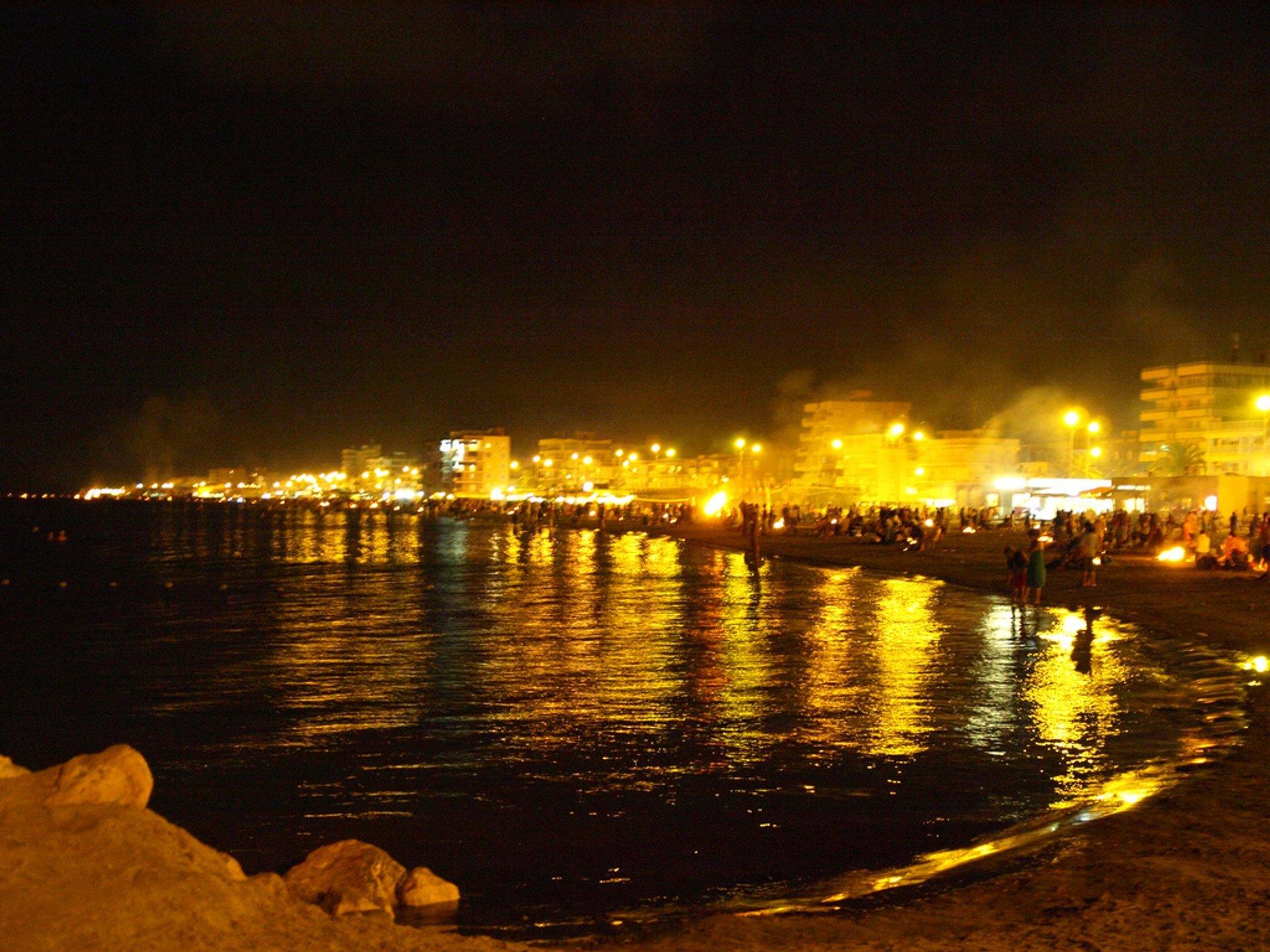 Noche de San Juan en Sta. Pola 2019