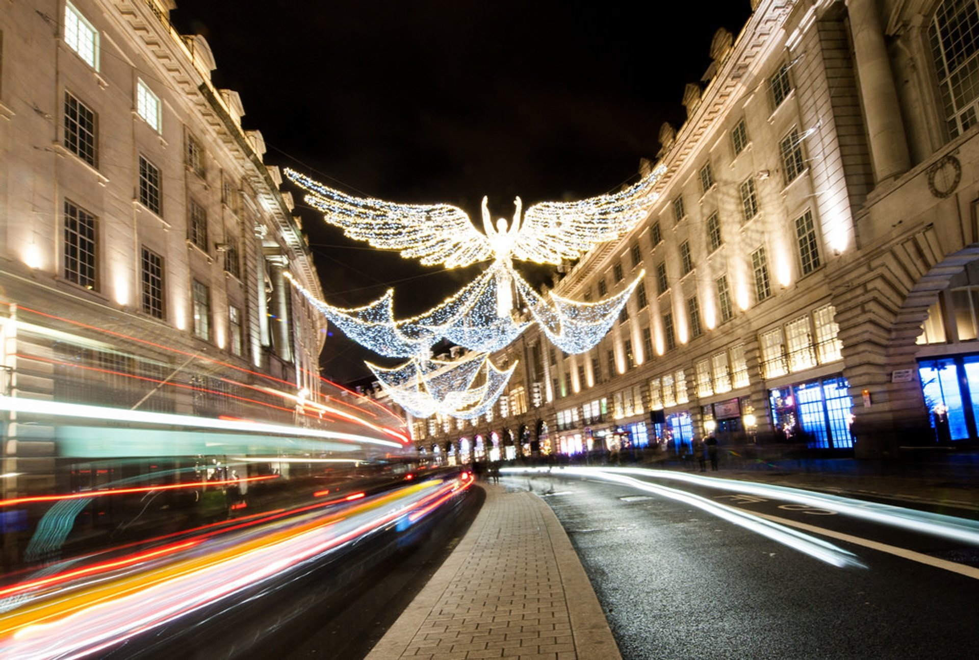 Christmas Angels in Regent Street 2020