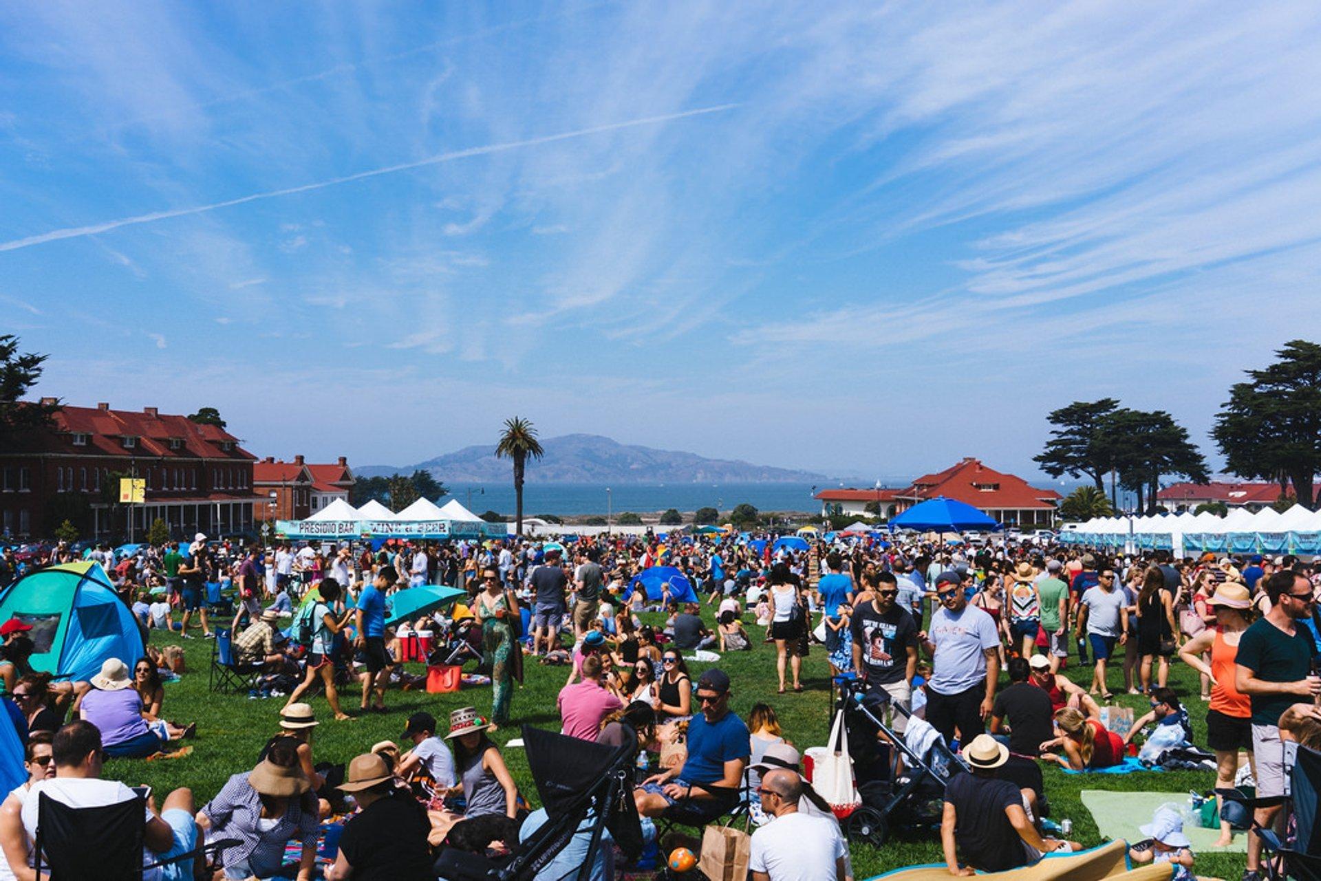 Presidio Picnic in San Francisco 2020 - Best Time