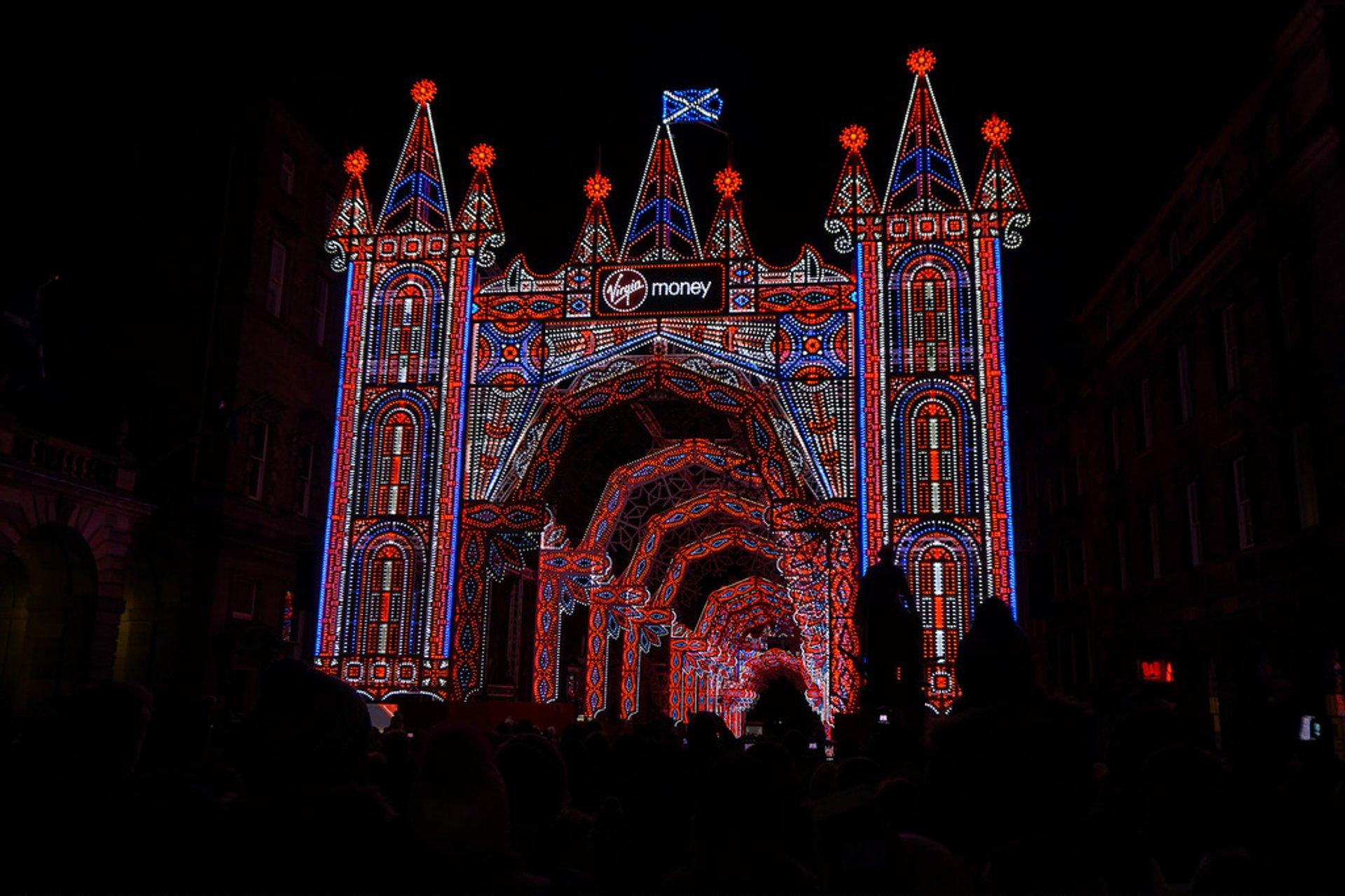 Christmas Lights in Edinburgh - Best Season 2019