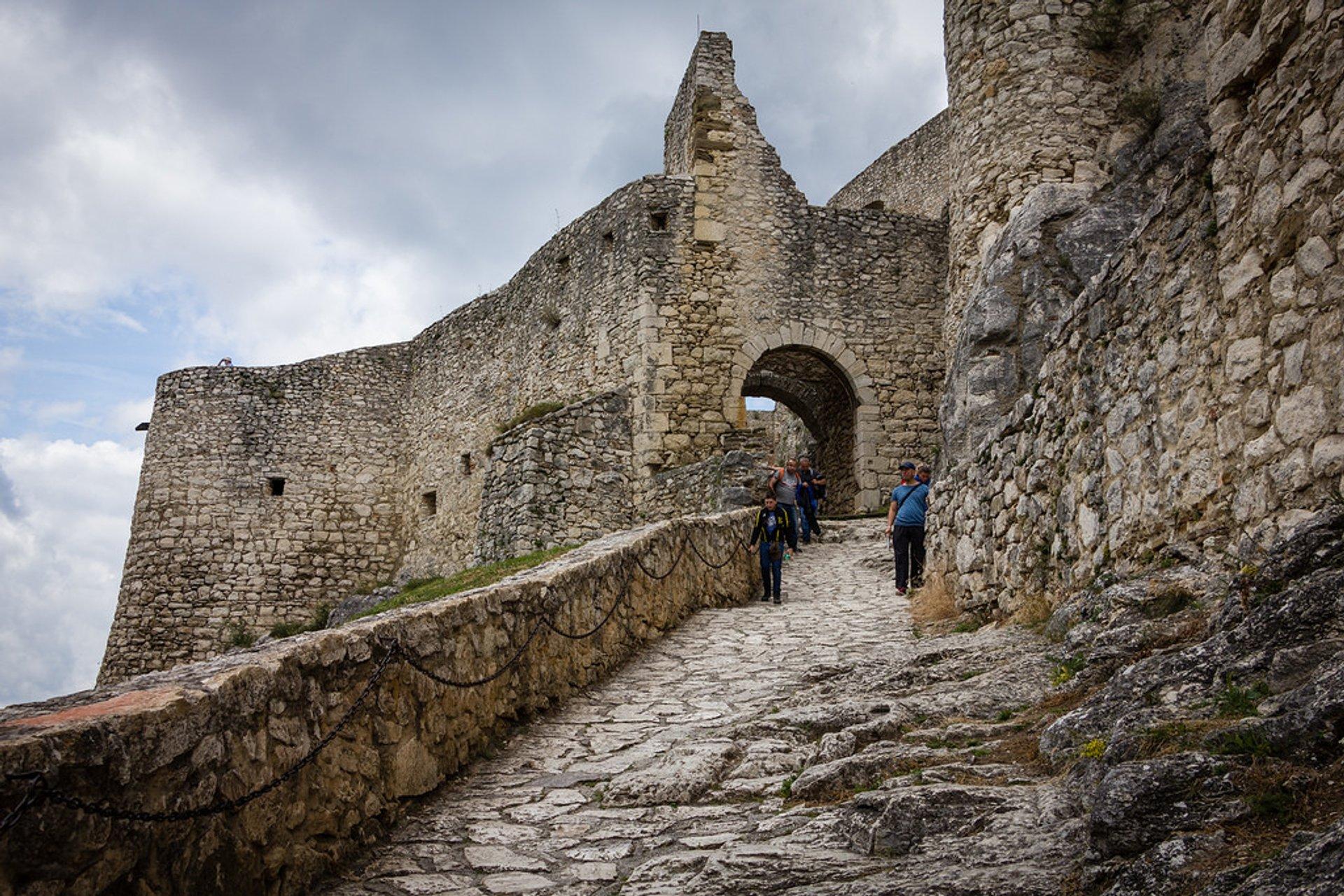 Best time for Spiš Castle in Slovakia