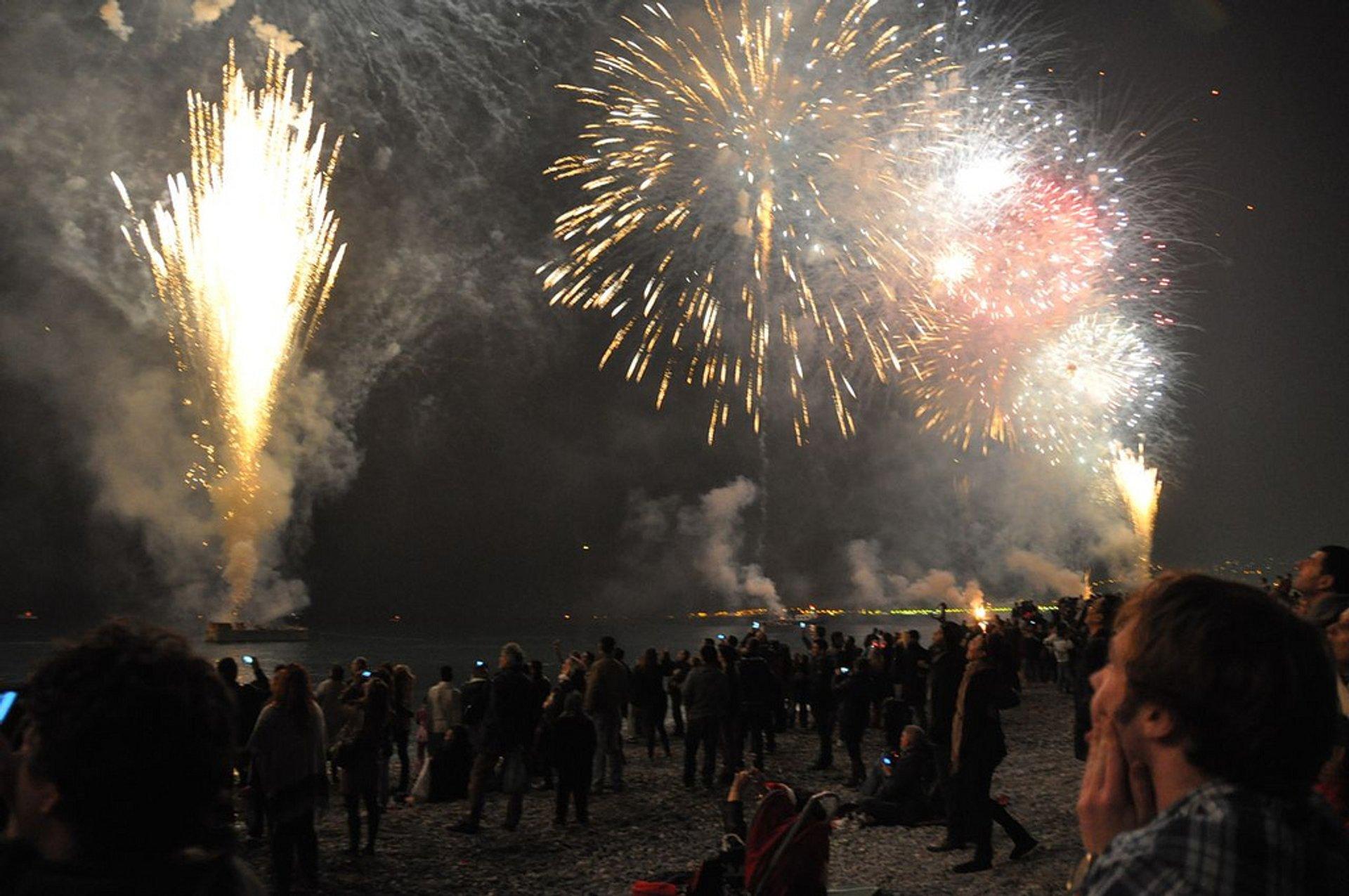Best time for Carnaval de Nice 2020