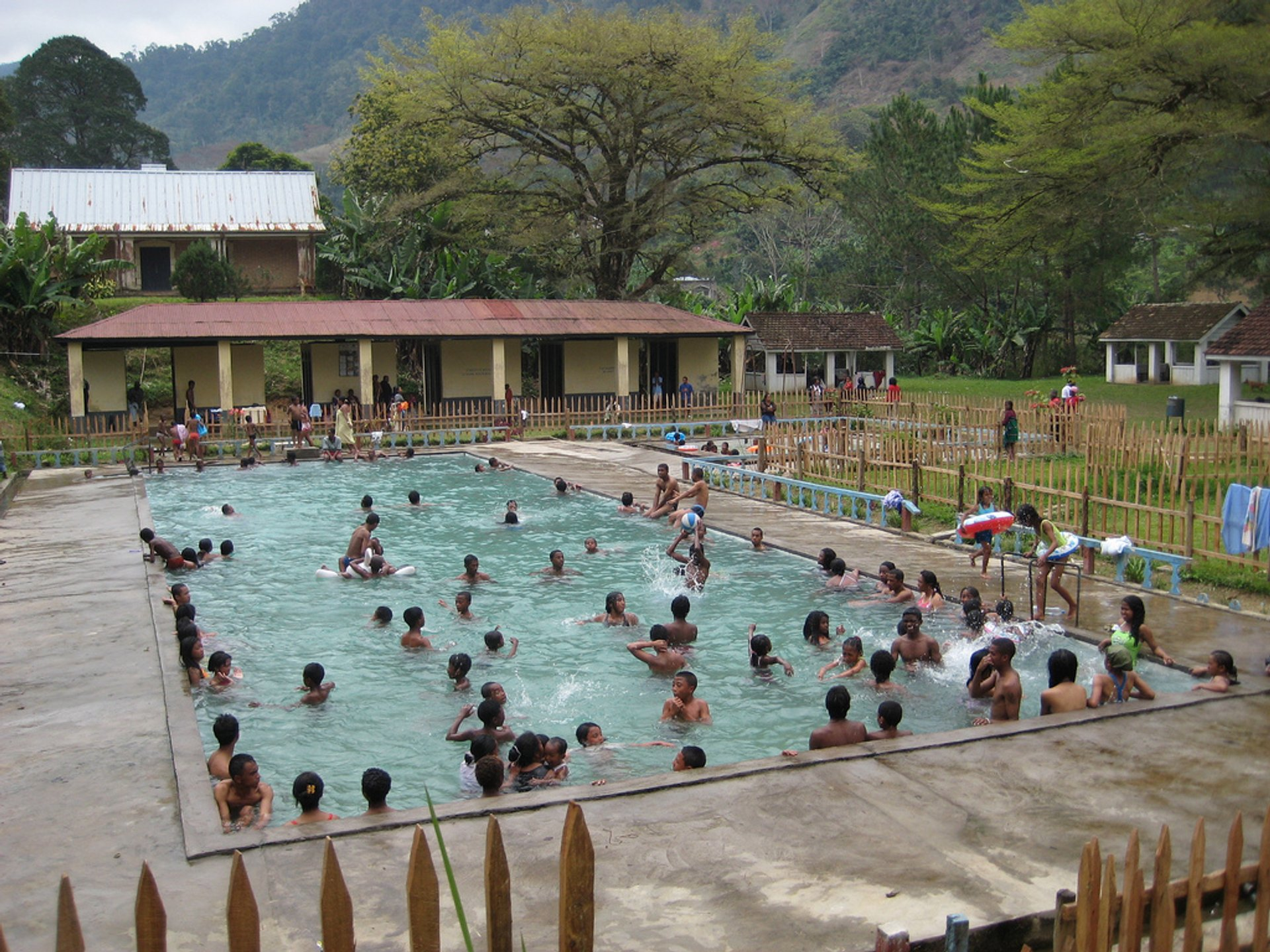 Thermal Baths, Ranomafana 2020