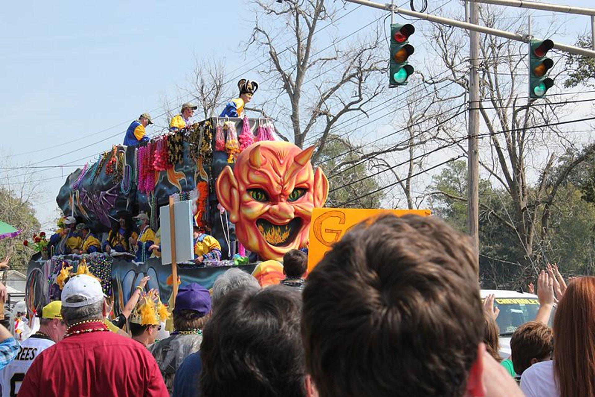 Lafayette Louisiana Mardi Gras 2012 2020