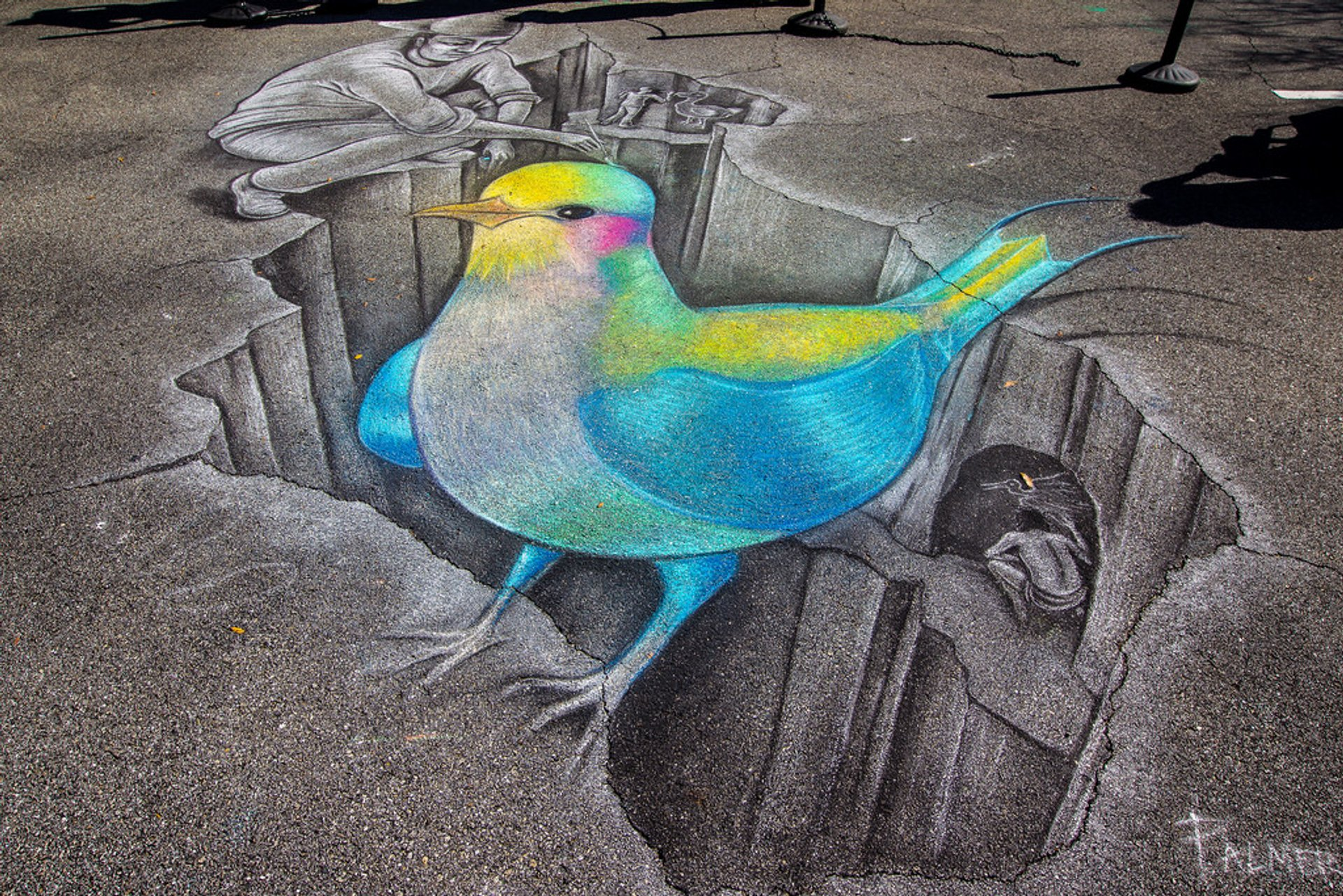 Best time for Chalk Festival in Venice 2019