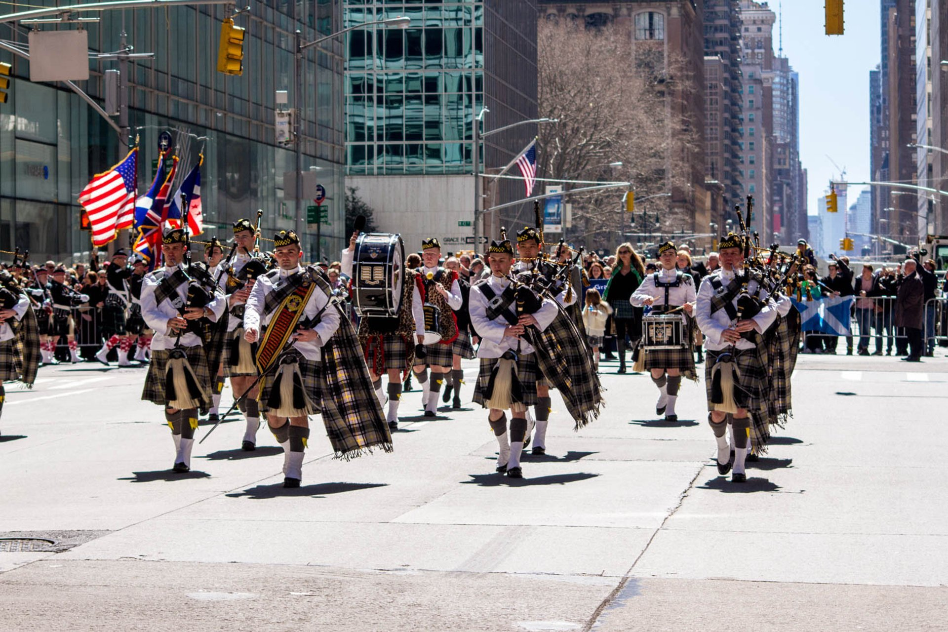 Best time to see New York City Tartan Day Parade in New York 2020