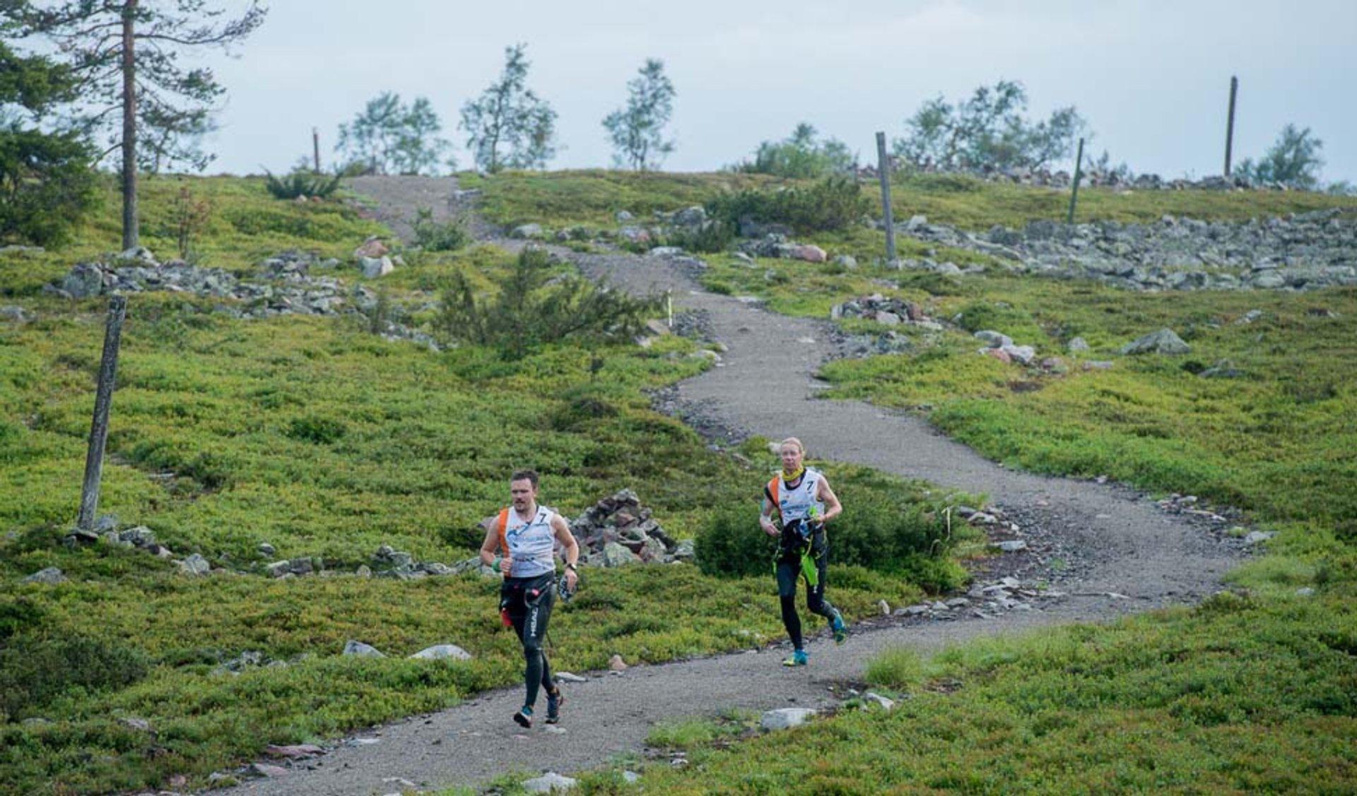 Midnight Sun Swimrun in Finland 2019 - Best Time