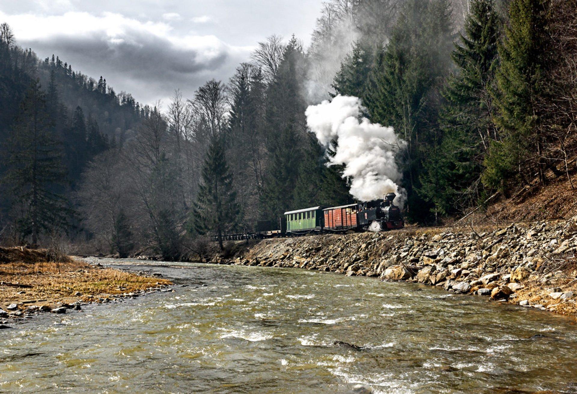 Best time for Mocăniţa Steam Train in Romania 2020