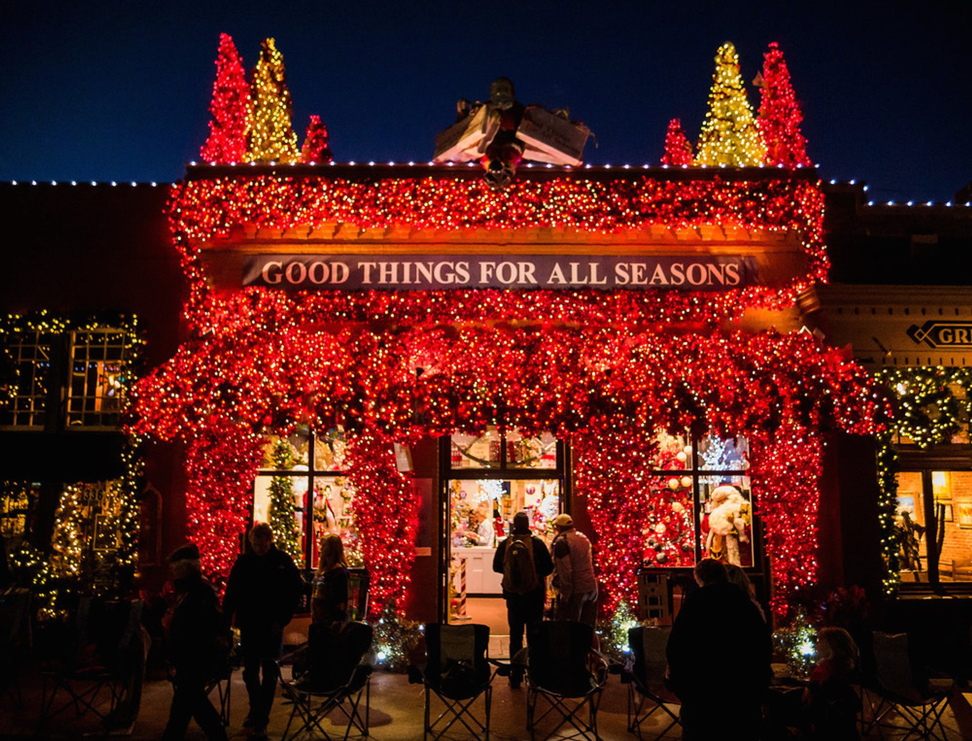 Grapevine Parade of Lights in Texas - Best Time