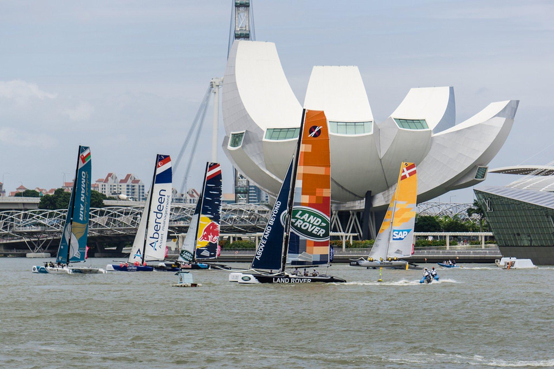 Sailing in Singapore - Best Season 2020