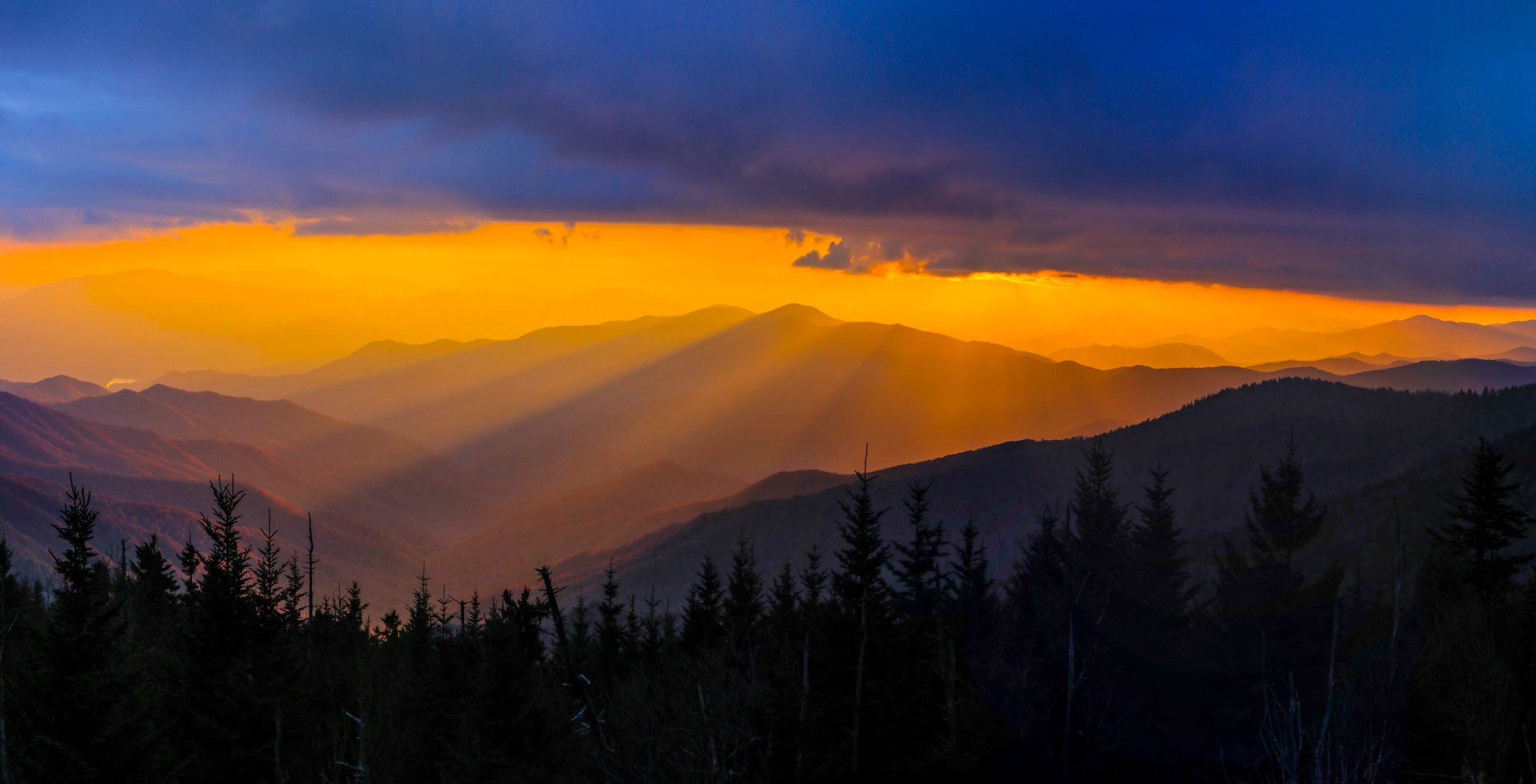 Clingmans Dome Sunset 2019