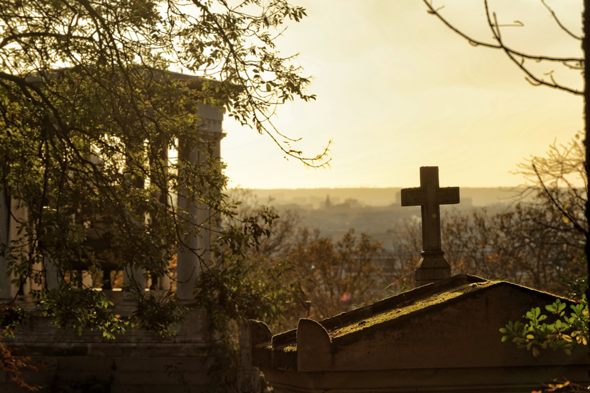 Best time to see Autumnal Père Lachaise Cemetery in Paris 2020