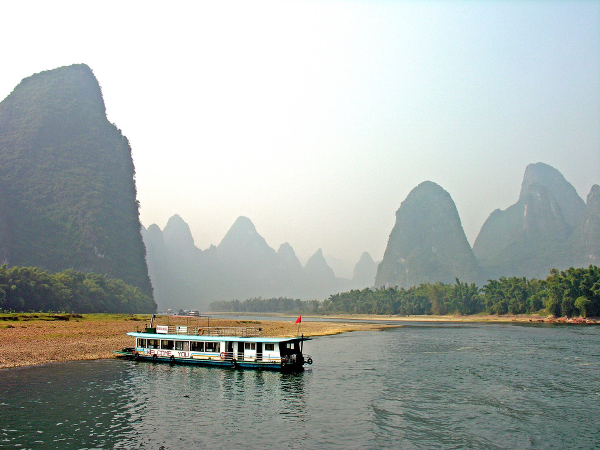 Best time to see Li River Hiking in Guilin 2020
