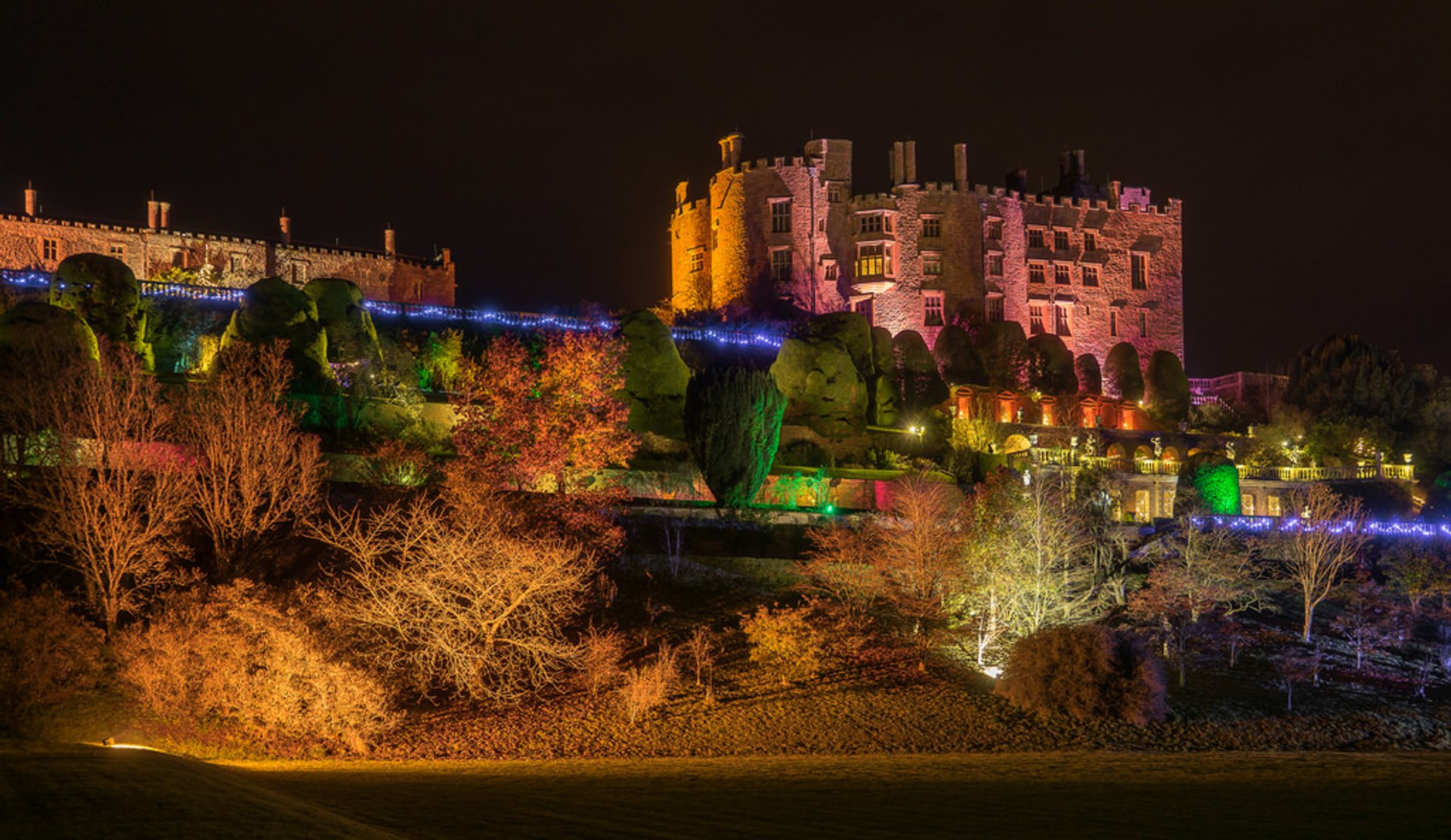 Best time for Christmas at Powis Castle in Wales 2019