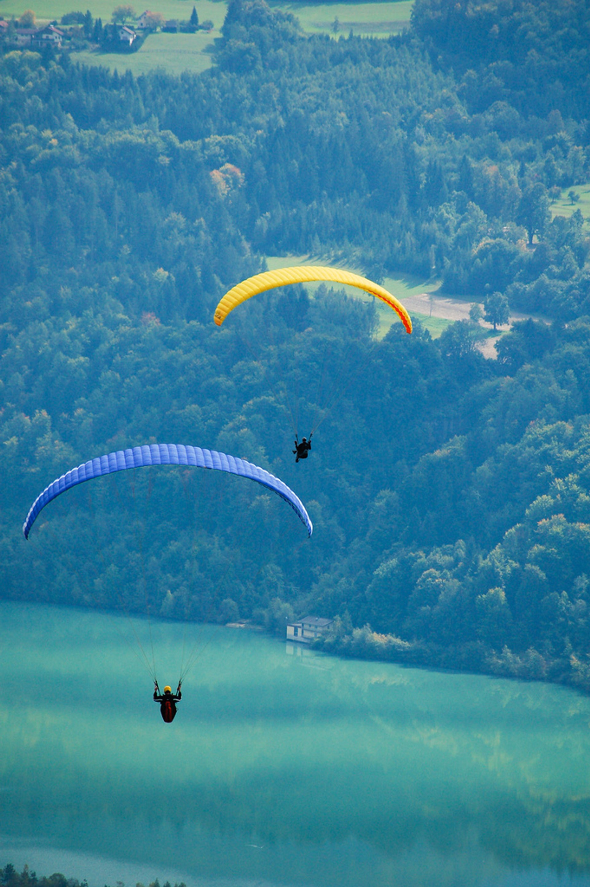 Paragliding and Hang Gliding in Austria - Best Season 2020