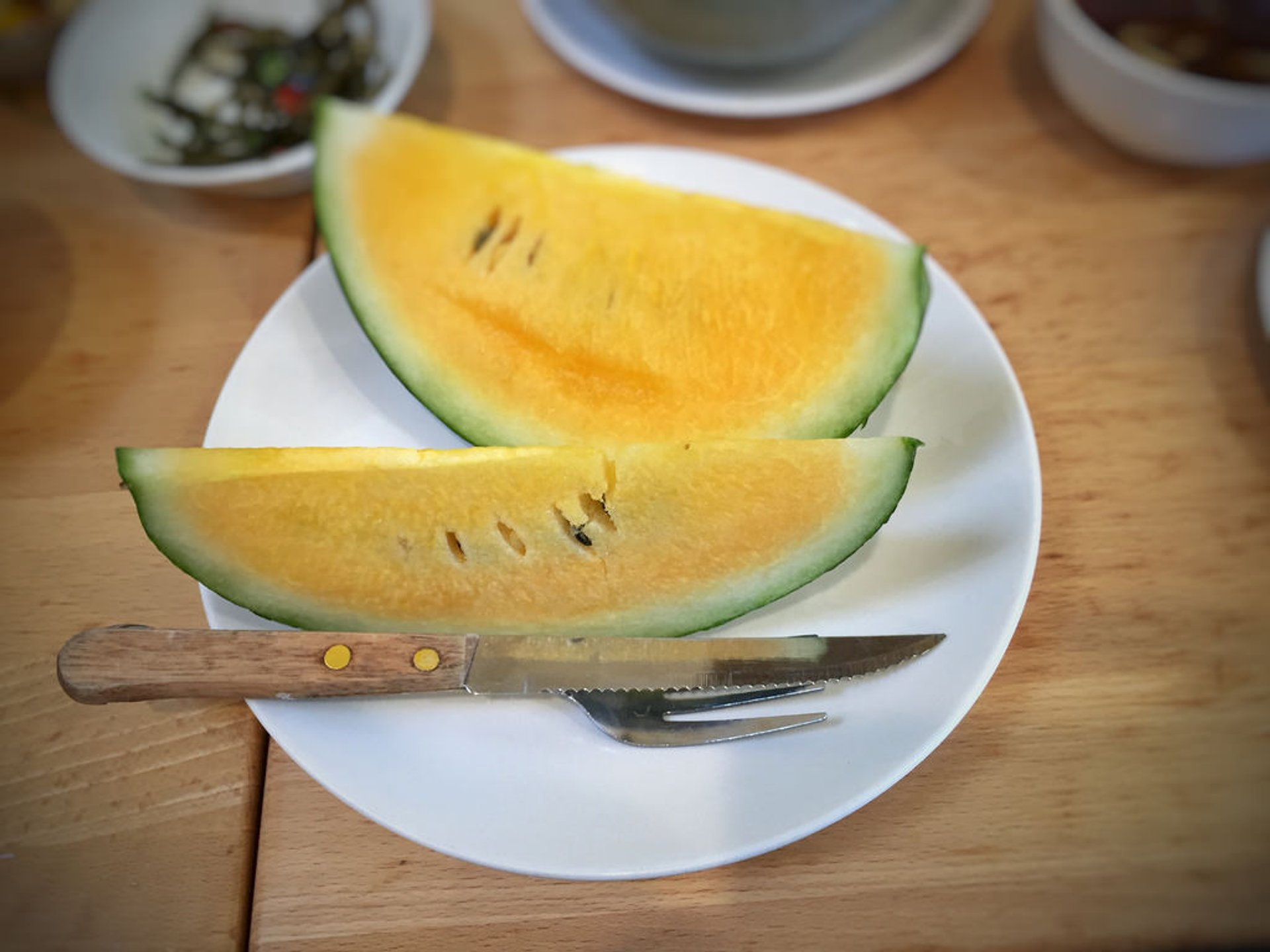 Yellow Watermelon in Taiwan 2019 - Best Time