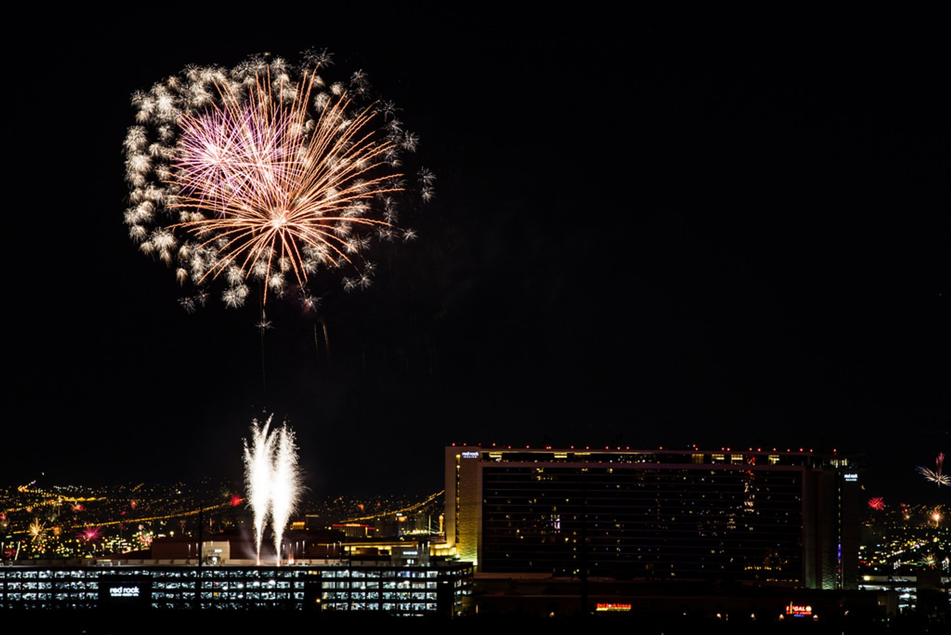 Independence Day Fireworks over Red Rock Casino 2019