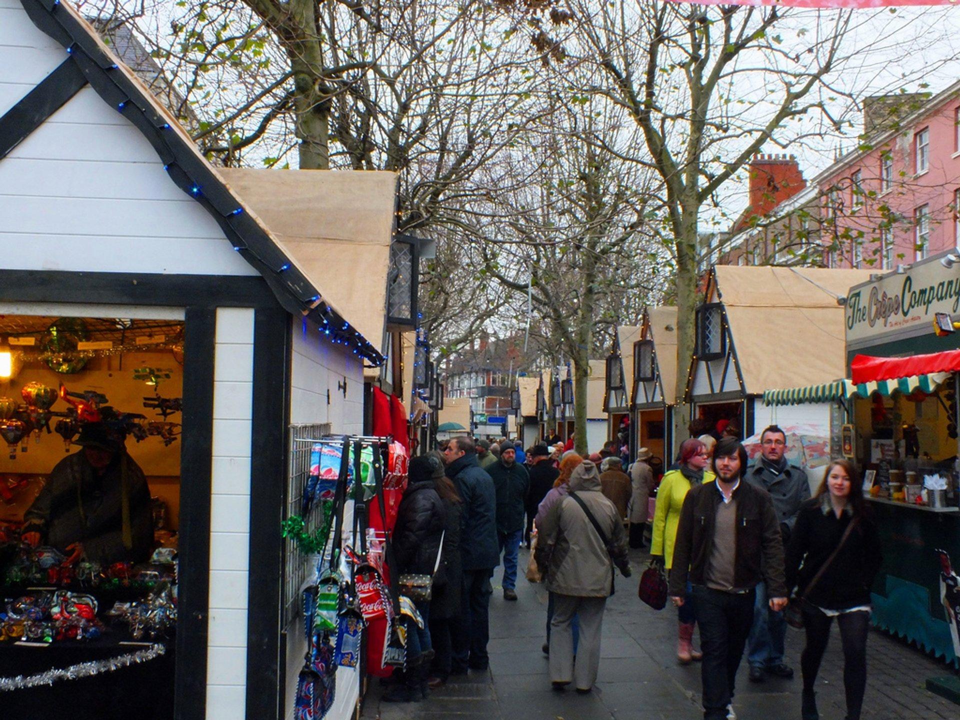 York Christmas Market Parliament Street 2020