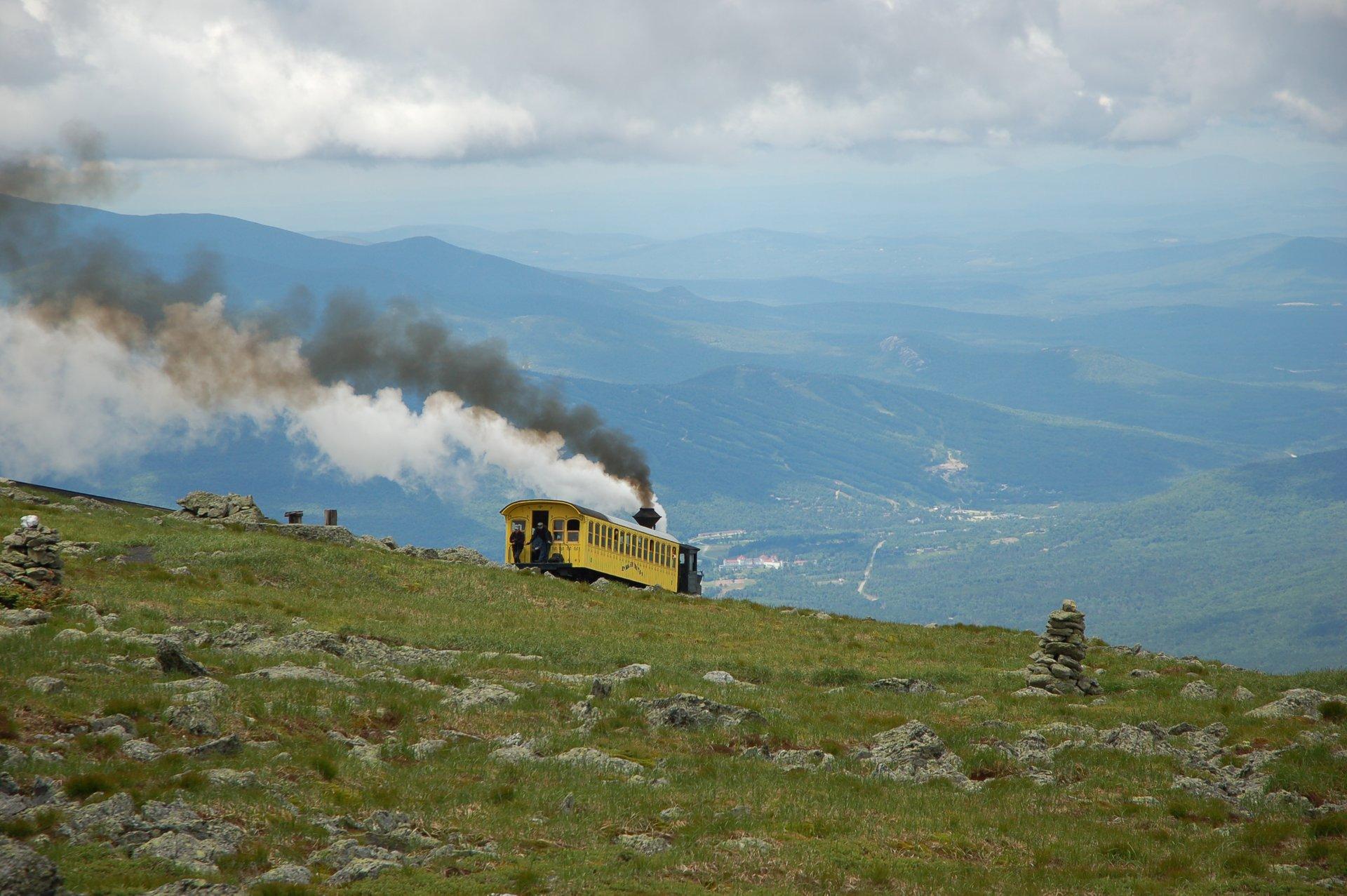 The cog rail descending 2020