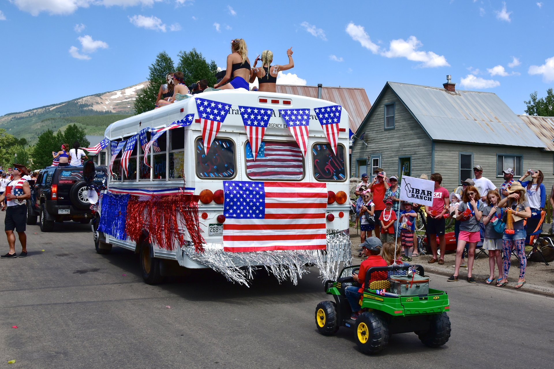 4th of July Parade - Team Prep USA. Crested Butte. 2020