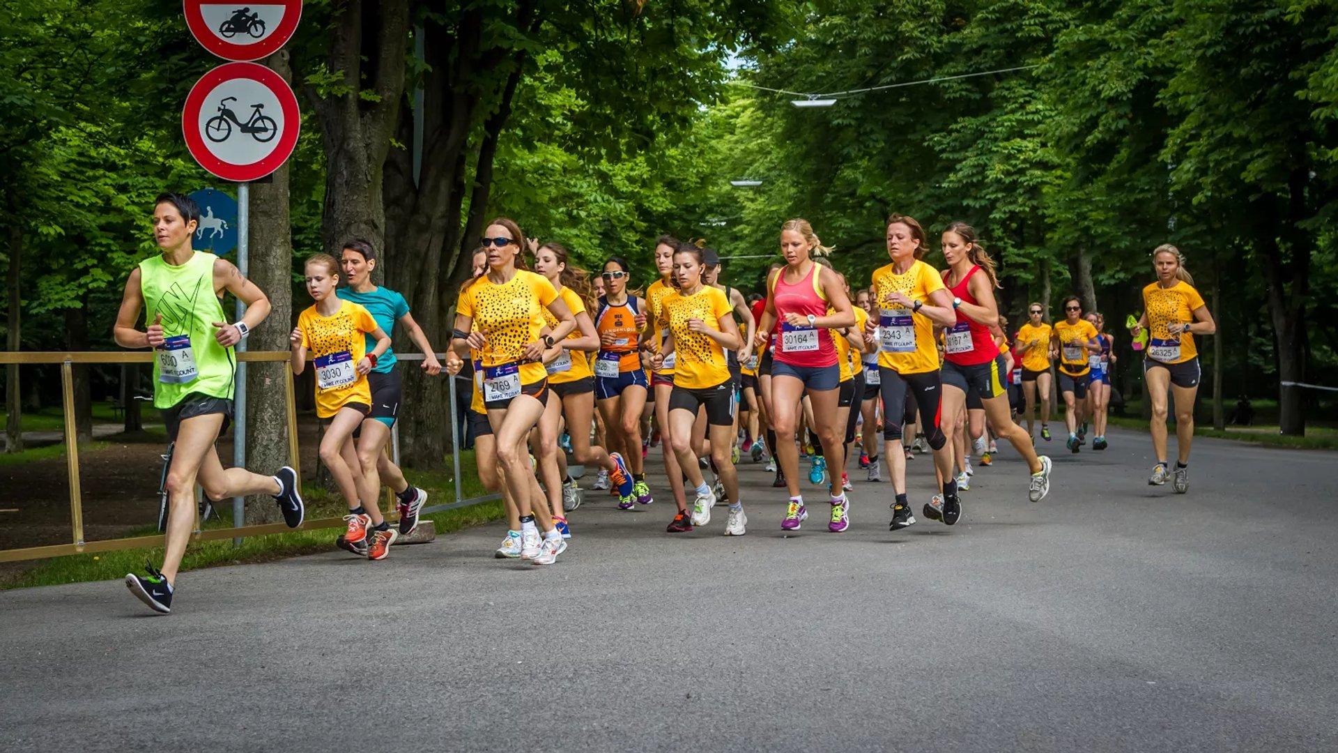 Best time for Austrian Women's Run (Österreichischer Frauenlauf) in Vienna 2020