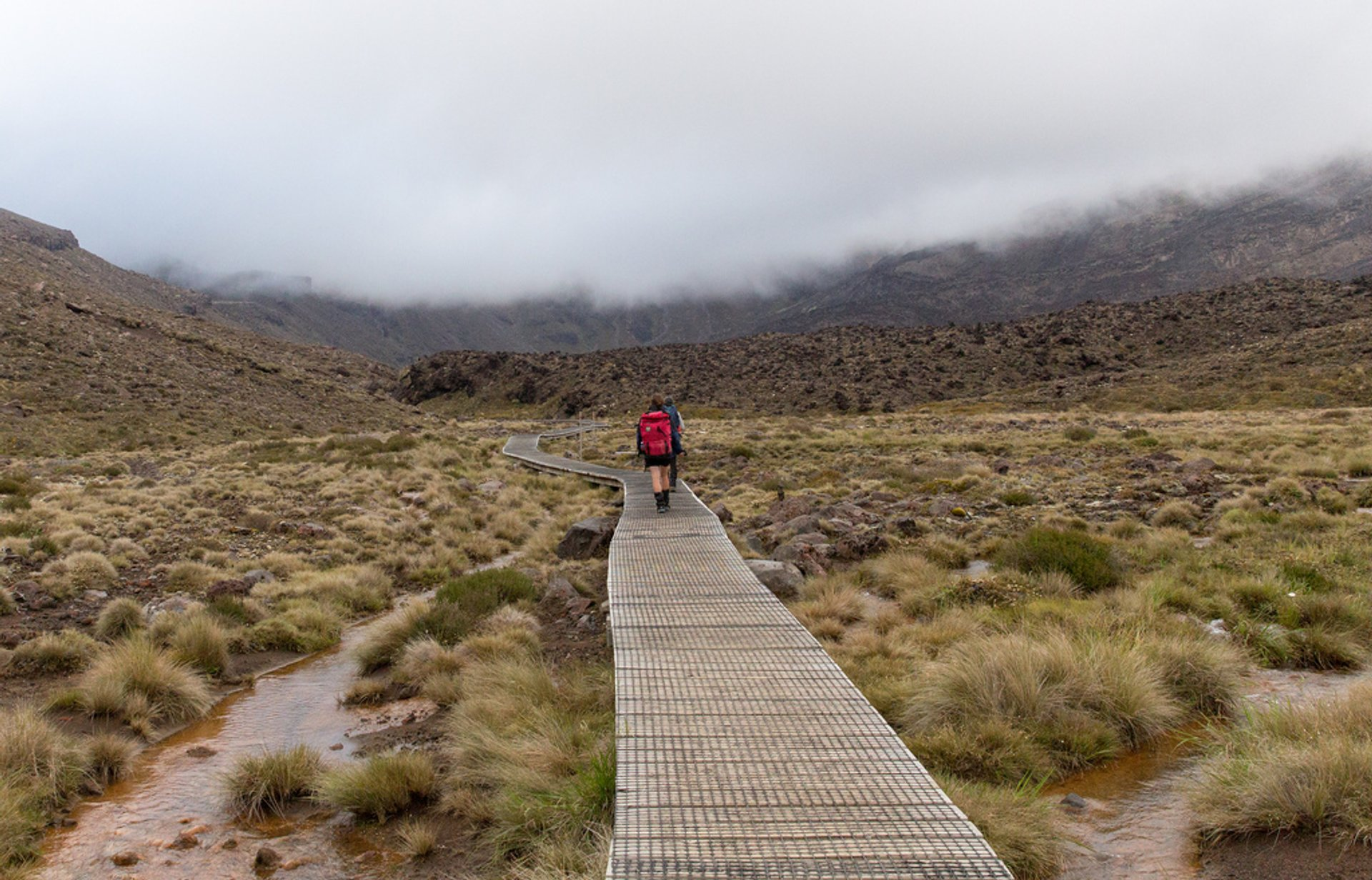 Tongariro Alpine Crossing in New Zealand - Best Season 2019