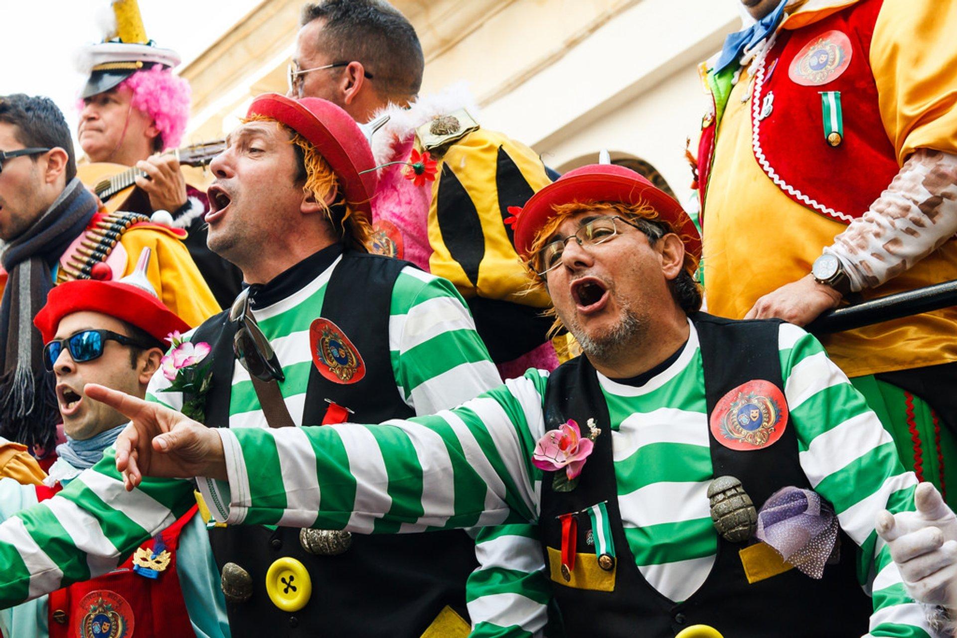Cádiz Carnival in Spain 2019 - Best Time