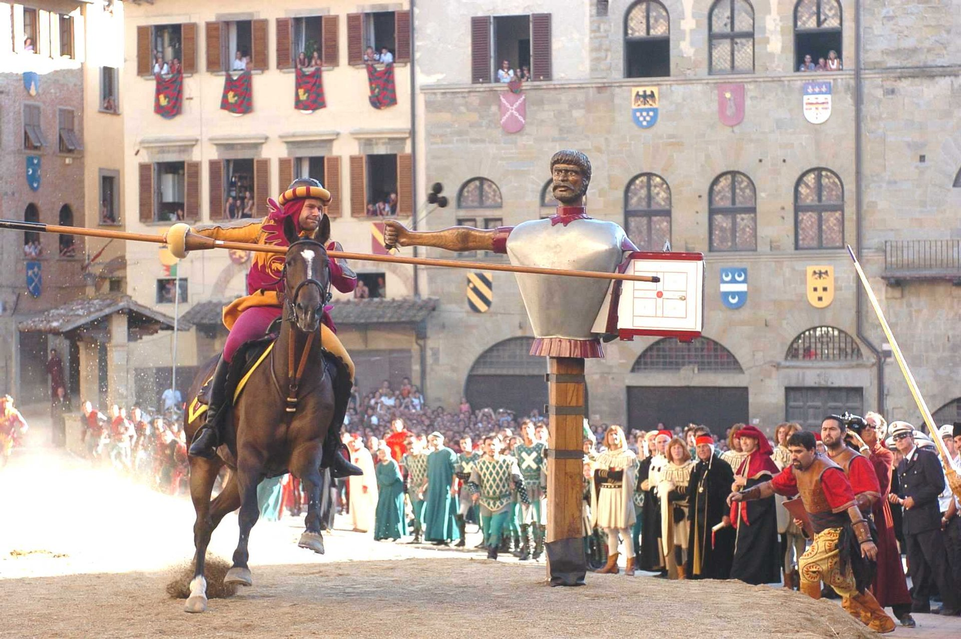 Best time for Giostra del Saracino (Joust of the Saracens) in Tuscany 2020