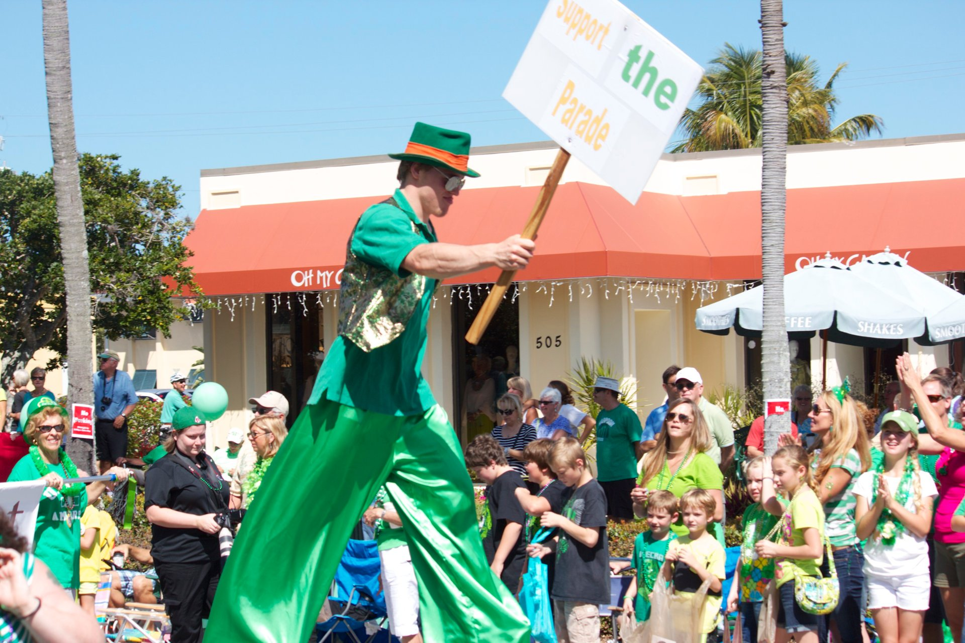 Best time for Naples St. Patrick's Day Parade in Florida 2020