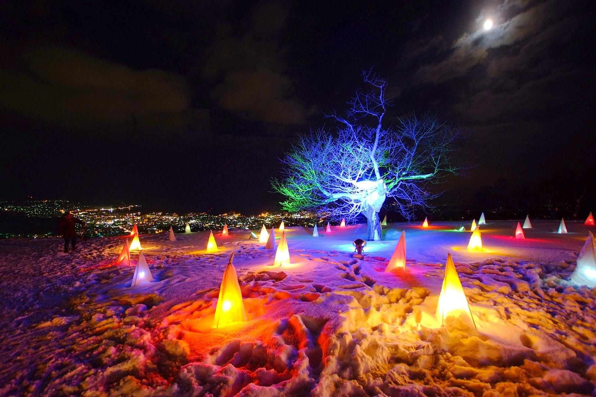 Otaru Snow Light Path Festival 2020