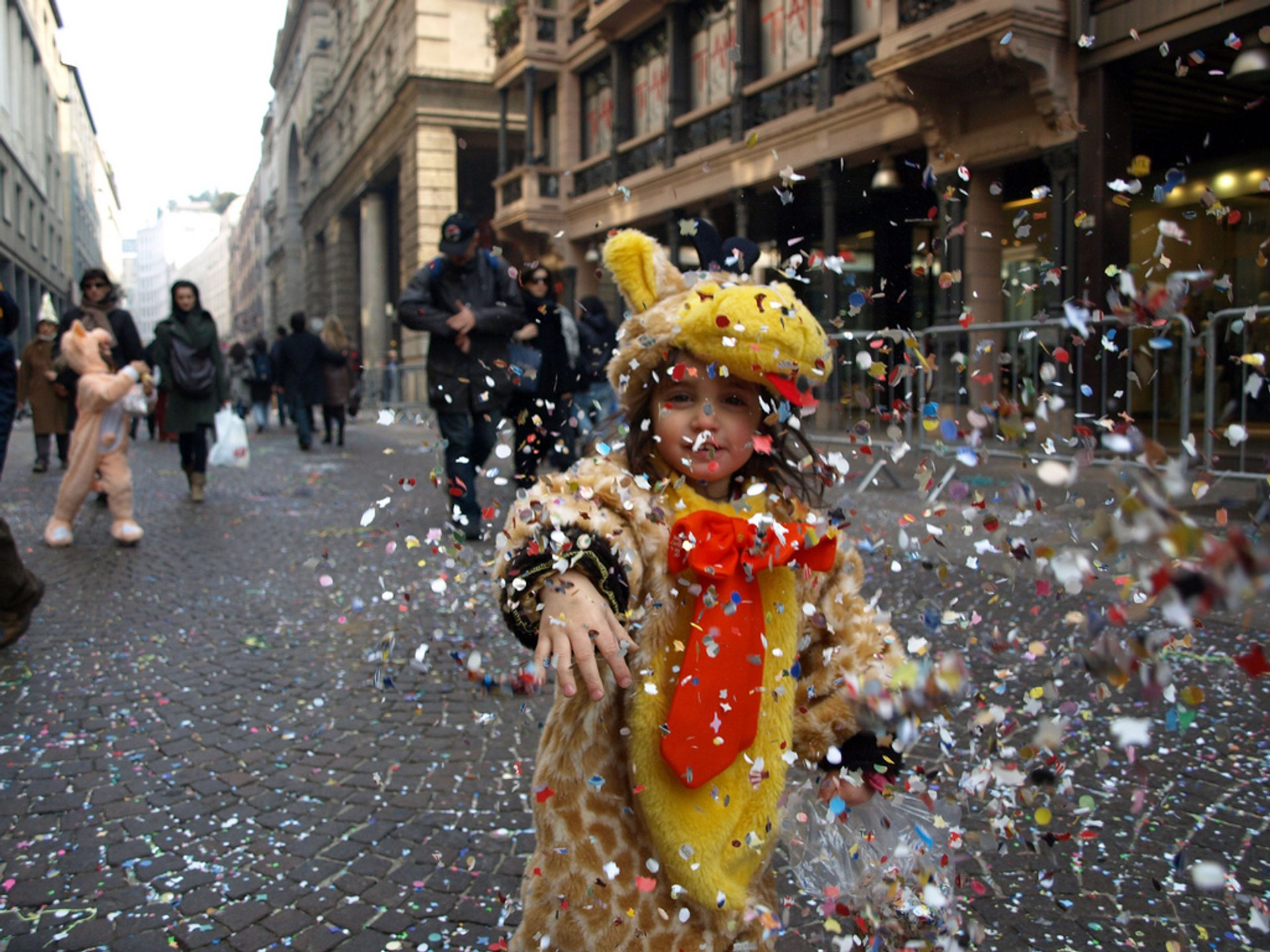 Best time to see Ambrosian Carnival in Milan 2020