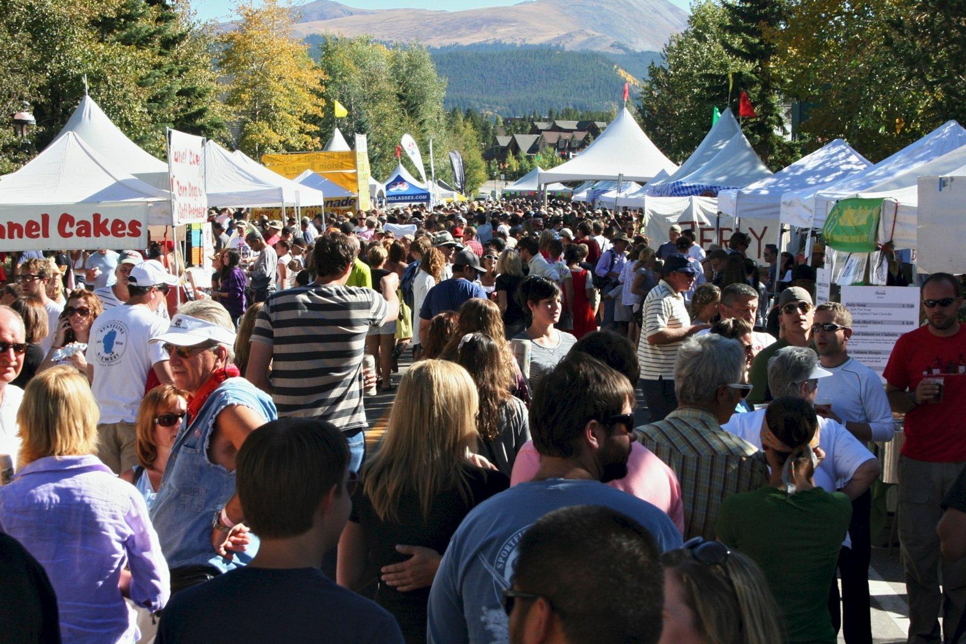 Breckenridge Oktoberfest in Colorado 2020 - Best Time