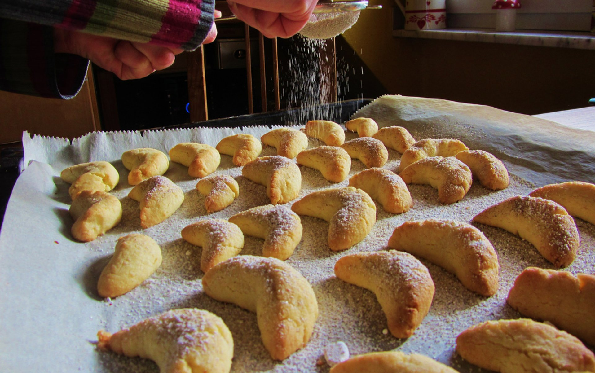 Best time for Vanillekipferl—a Christmas Cookie in Austria 2019