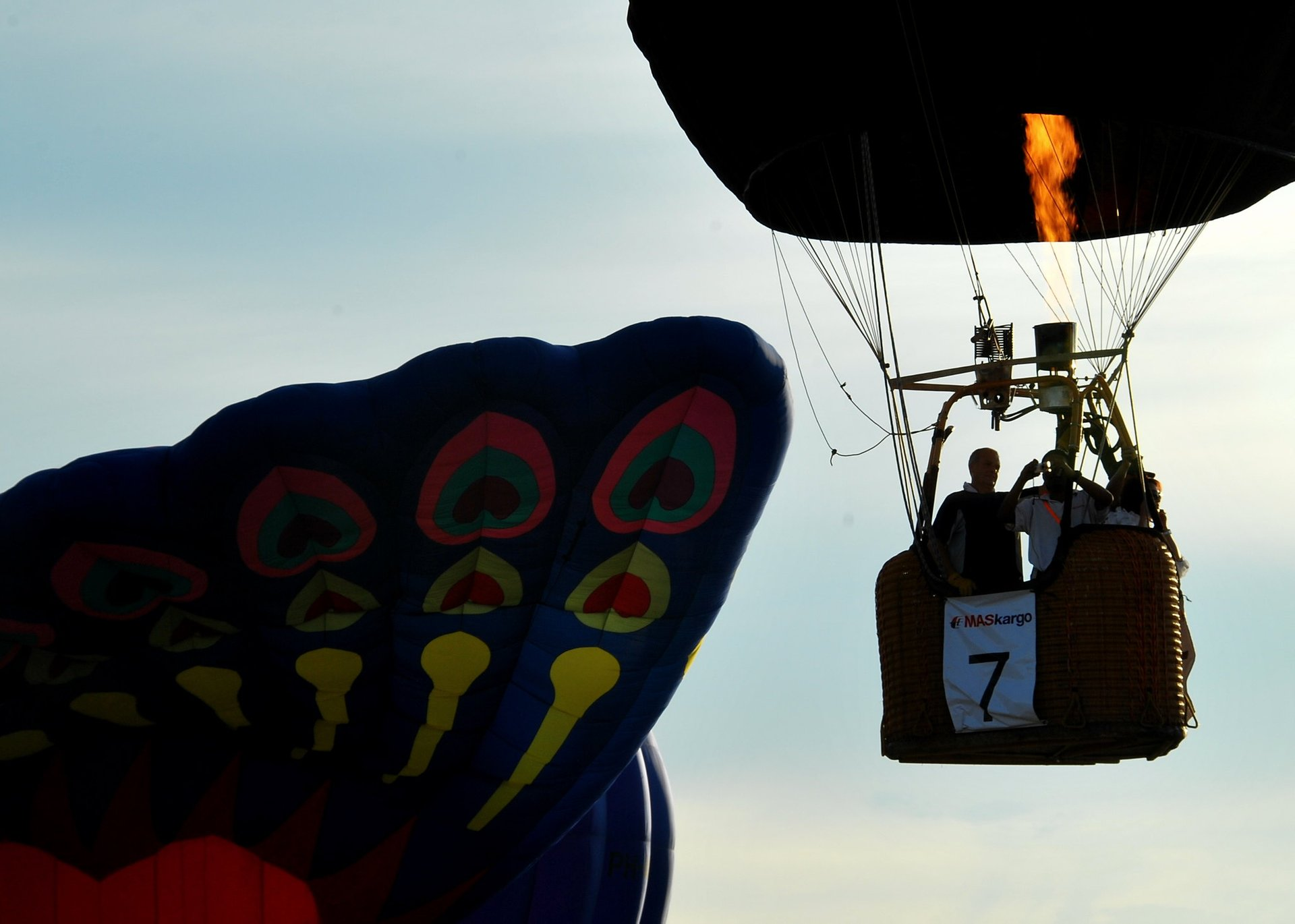 Best time for Putrajaya International Hot Air Balloon Fiesta in Kuala Lumpur 2020
