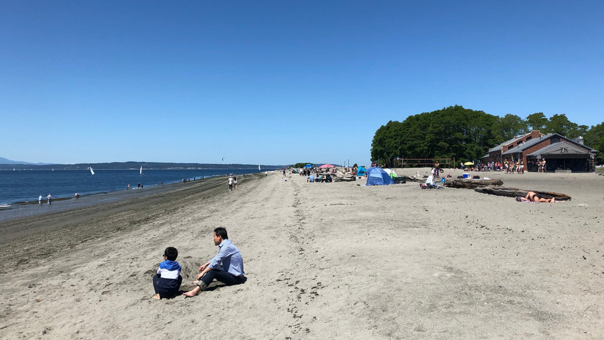 Golden Gardens Beach 2019