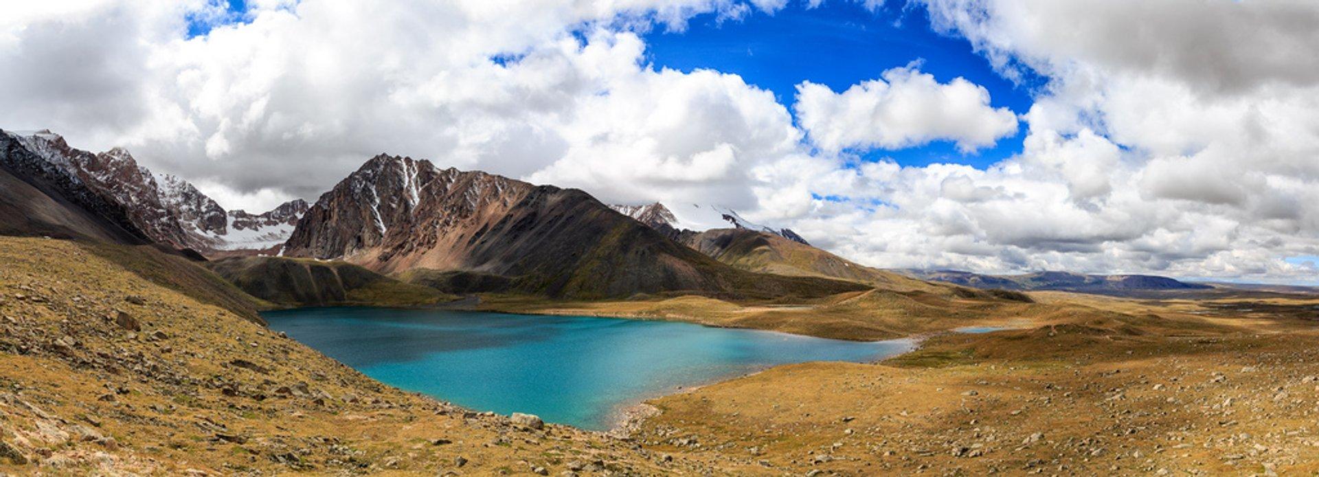 Lake in Uvs Province 2020