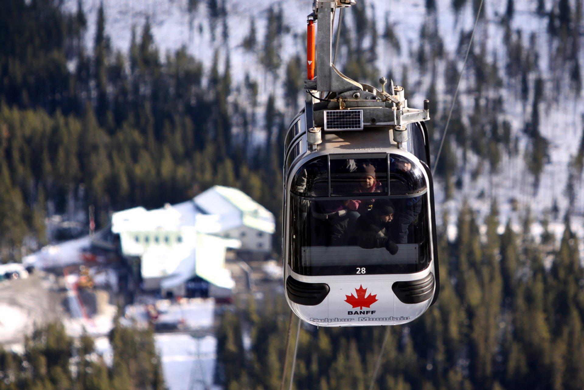 Banff Gondola in Banff & Jasper National Parks 2020 - Best Time